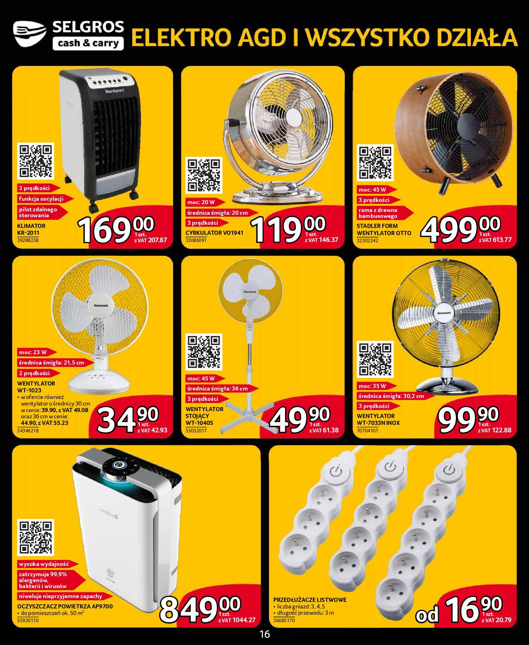 Gazetka Selgros - Katalog elektro-08.05.2019-22.05.2019-page-