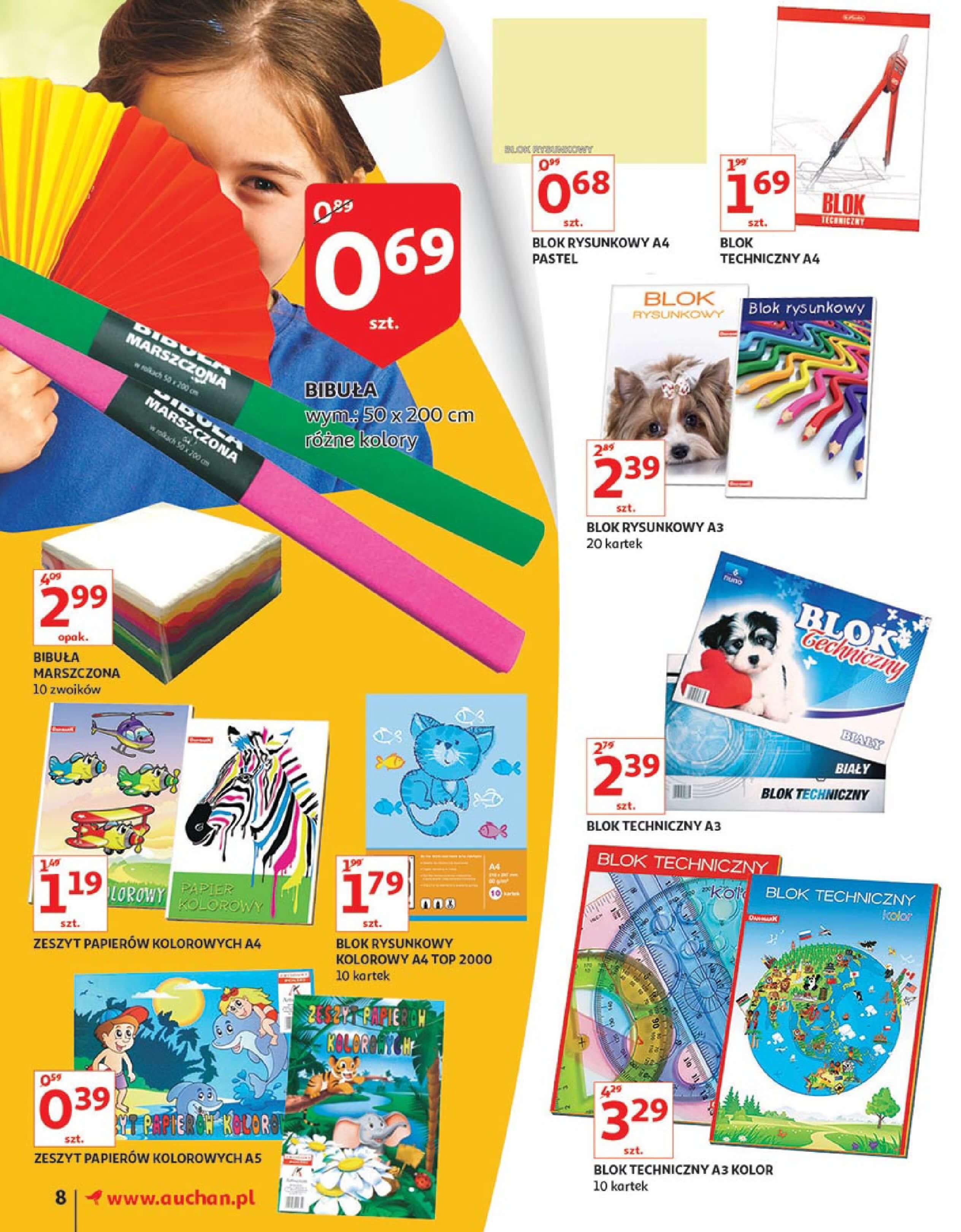 Gazetka Auchan - Wracaj z klasą!-01.08.2018-22.08.2018-page-