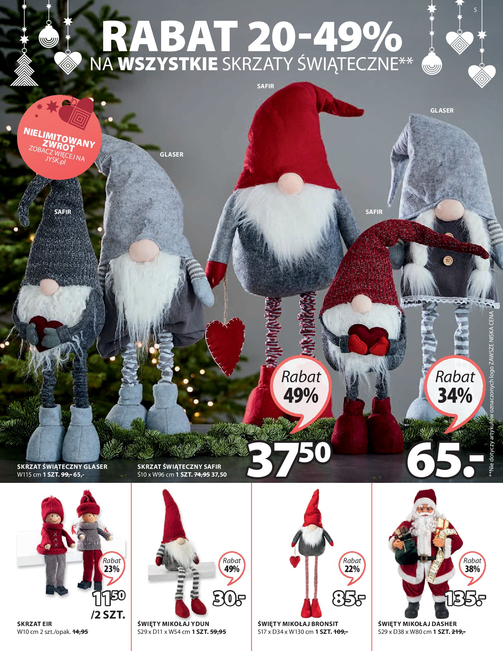 Gazetka Jysk: Oferty świąteczne 2020-11-12 page-6