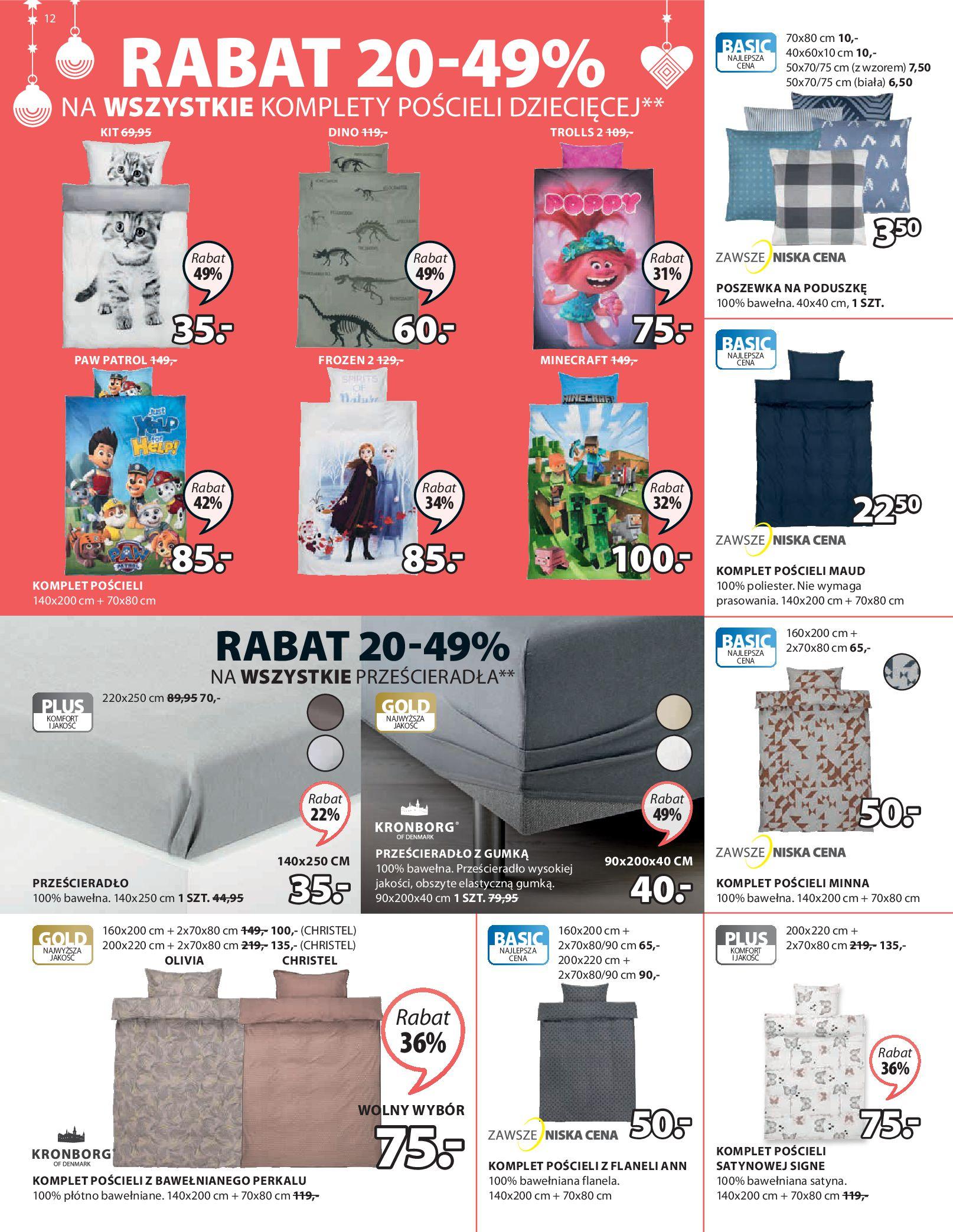 Gazetka Jysk: Oferty świąteczne 2020-11-12 page-13