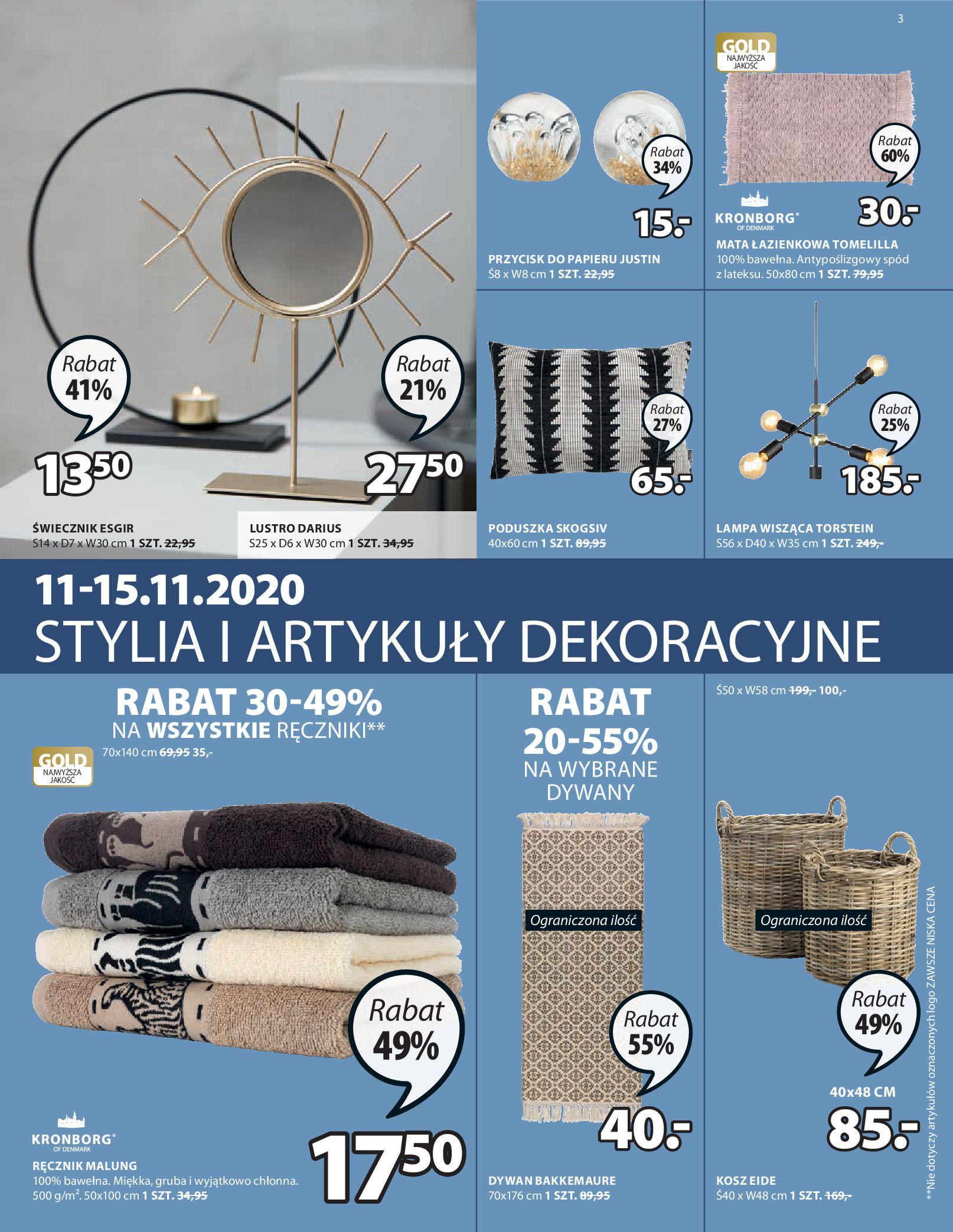 Gazetka Jysk: Oferty świąteczne 2020-11-12 page-4