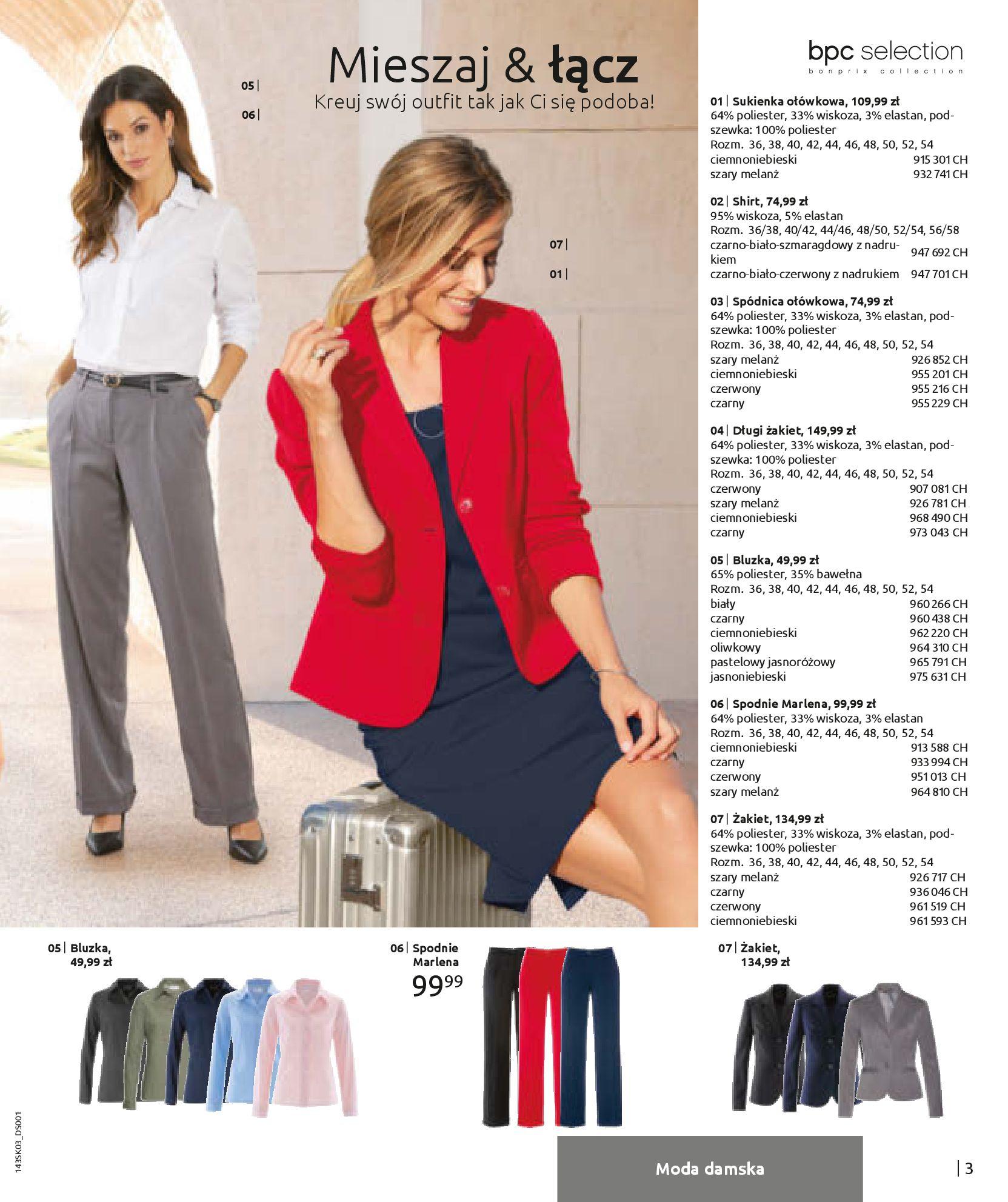 Gazetka Bonprix: Wiosenna moda 2021-03-05 page-5