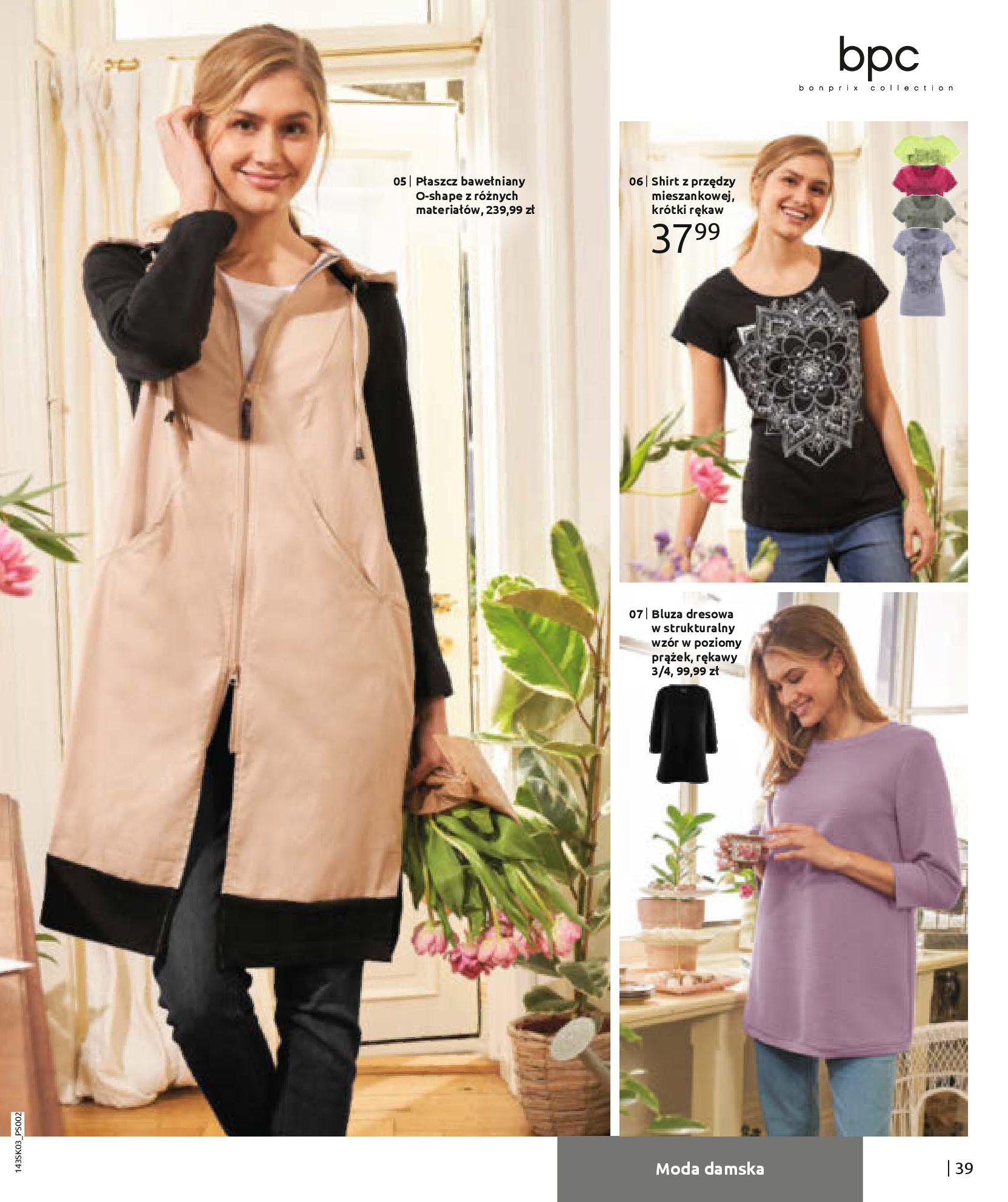Gazetka Bonprix: Wiosenna moda 2021-03-05 page-41