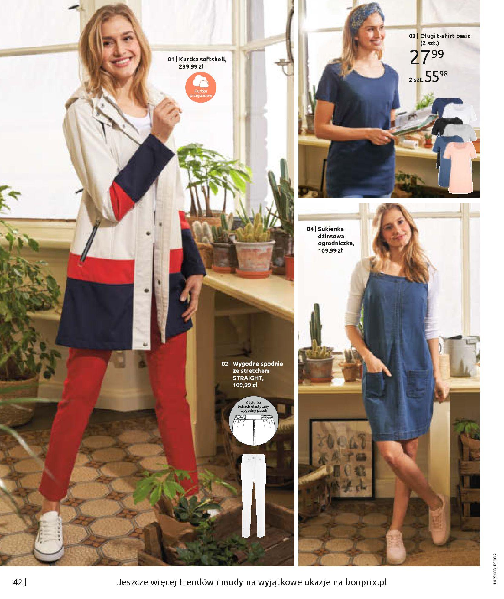 Gazetka Bonprix: Wiosenna moda 2021-03-05 page-44