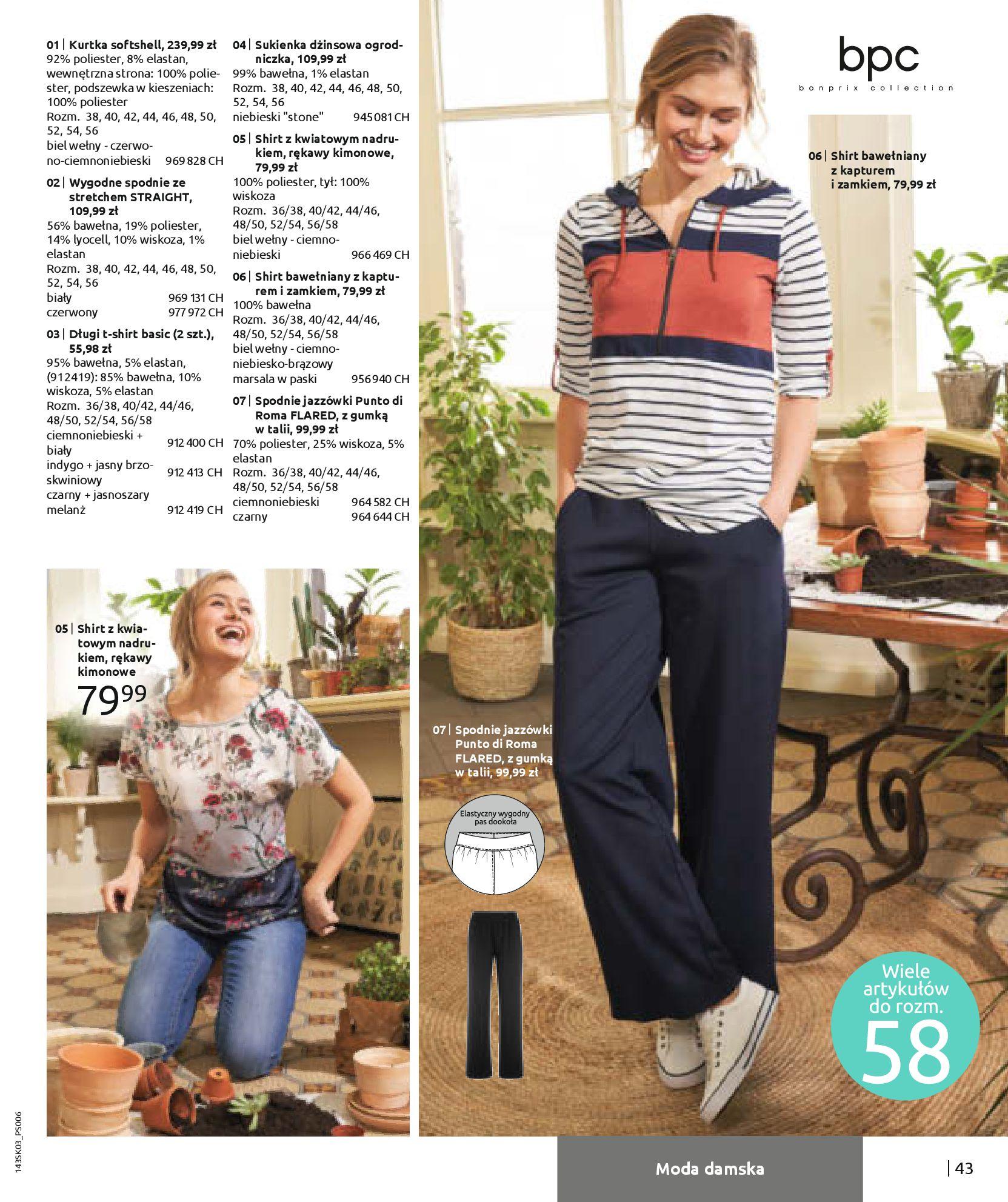 Gazetka Bonprix: Wiosenna moda 2021-03-05 page-45