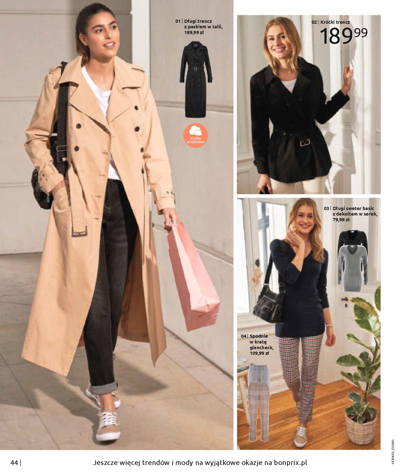Gazetka Bonprix: Wiosenna moda 2021-03-05 page-46