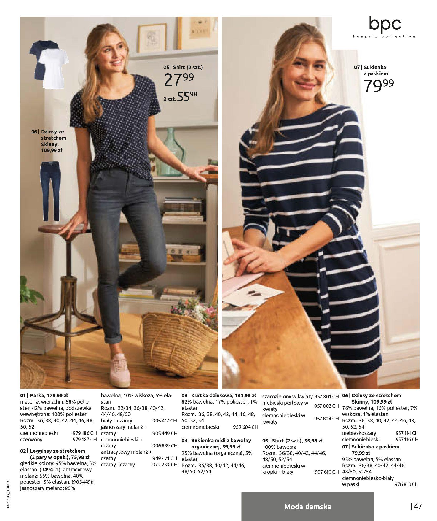 Gazetka Bonprix: Wiosenna moda 2021-03-05 page-49