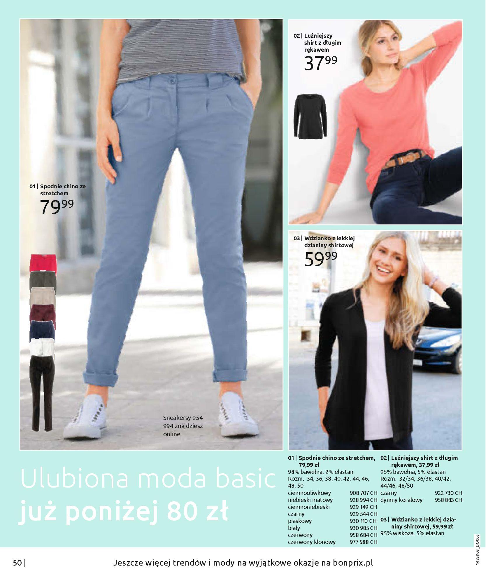Gazetka Bonprix: Wiosenna moda 2021-03-05 page-52