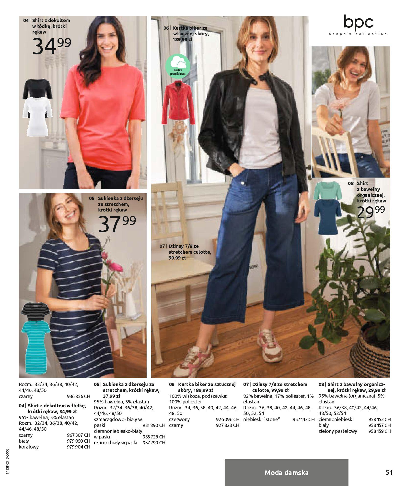 Gazetka Bonprix: Wiosenna moda 2021-03-05 page-53