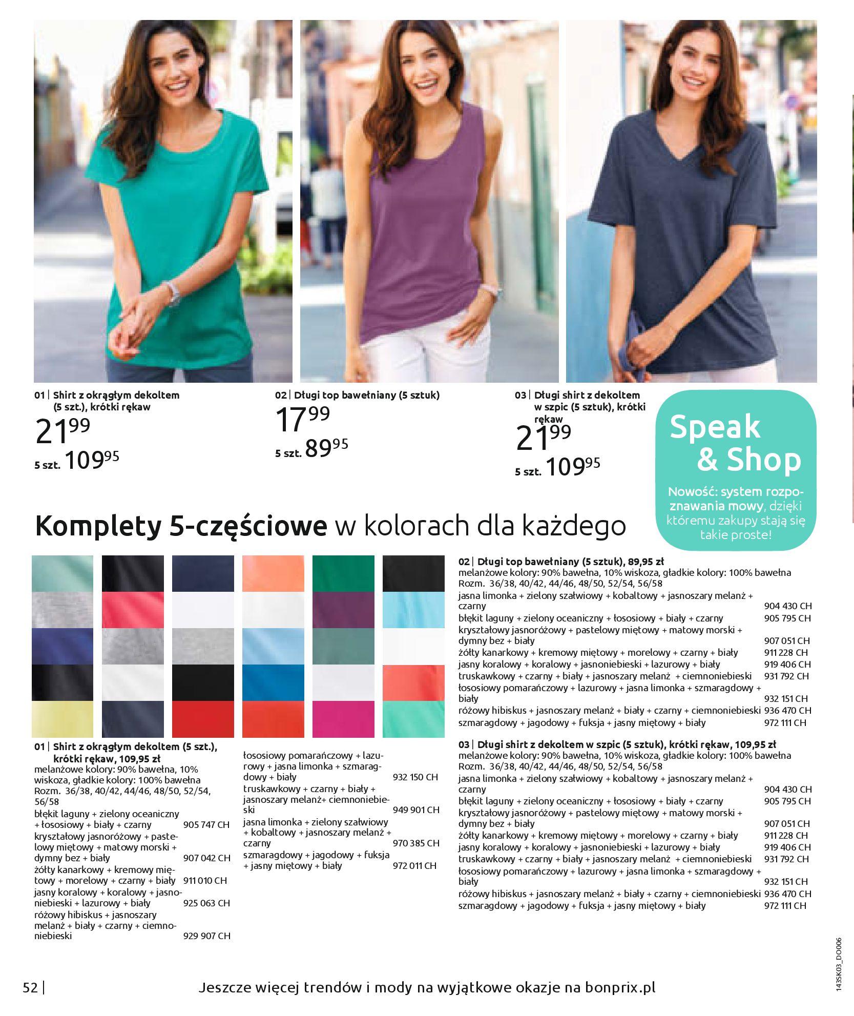 Gazetka Bonprix: Wiosenna moda 2021-03-05 page-54