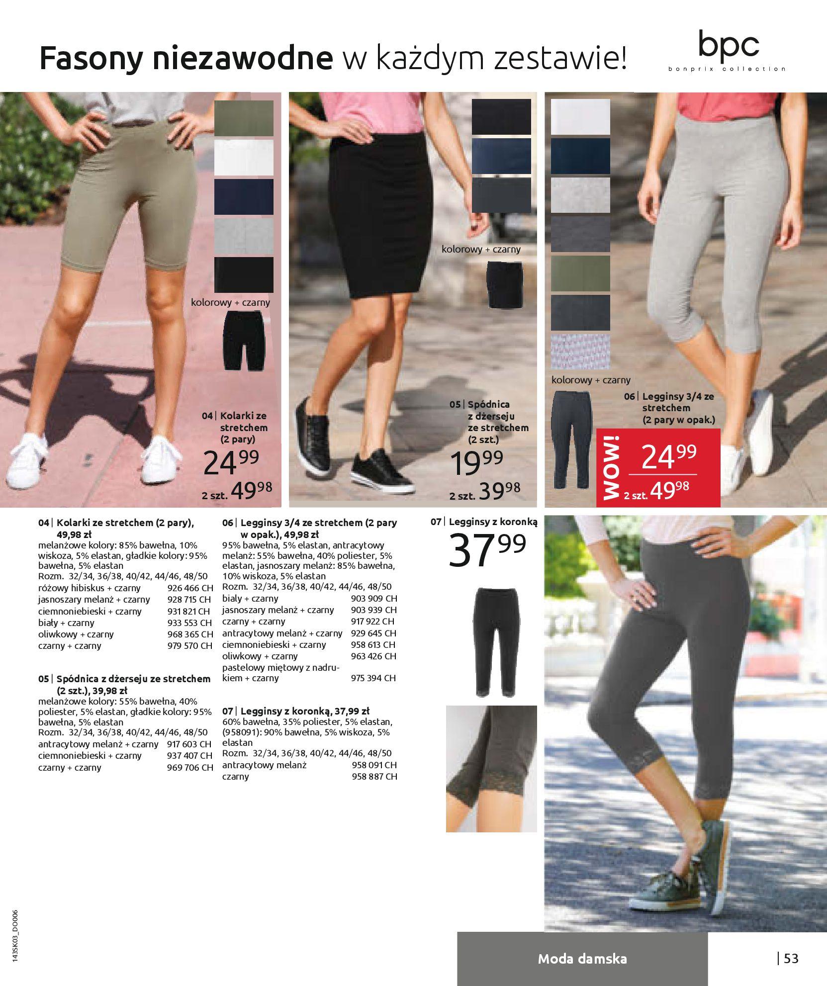 Gazetka Bonprix: Wiosenna moda 2021-03-05 page-55