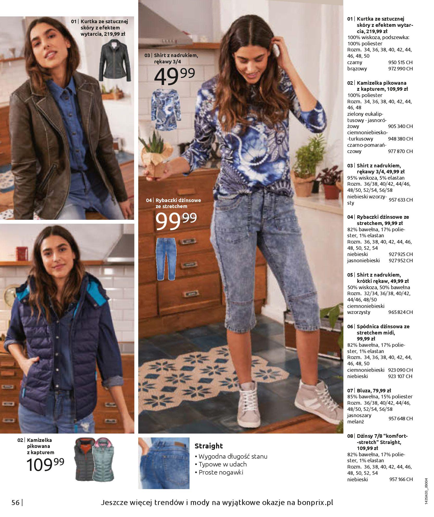 Gazetka Bonprix: Wiosenna moda 2021-03-05 page-58