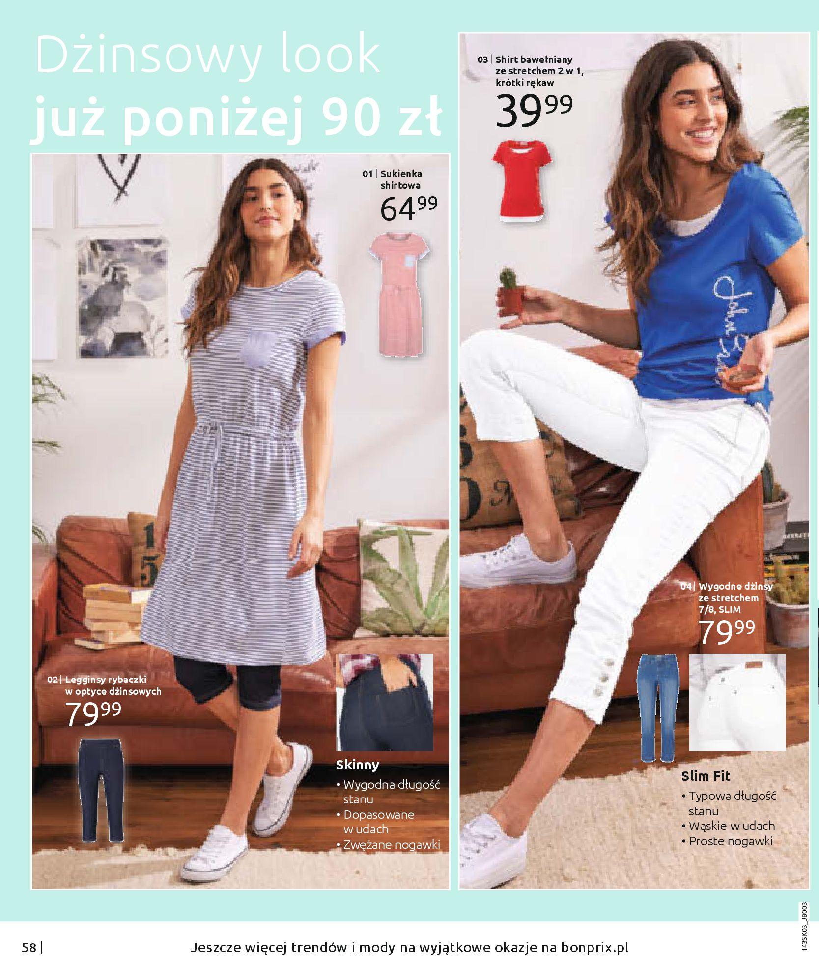 Gazetka Bonprix: Wiosenna moda 2021-03-05 page-60