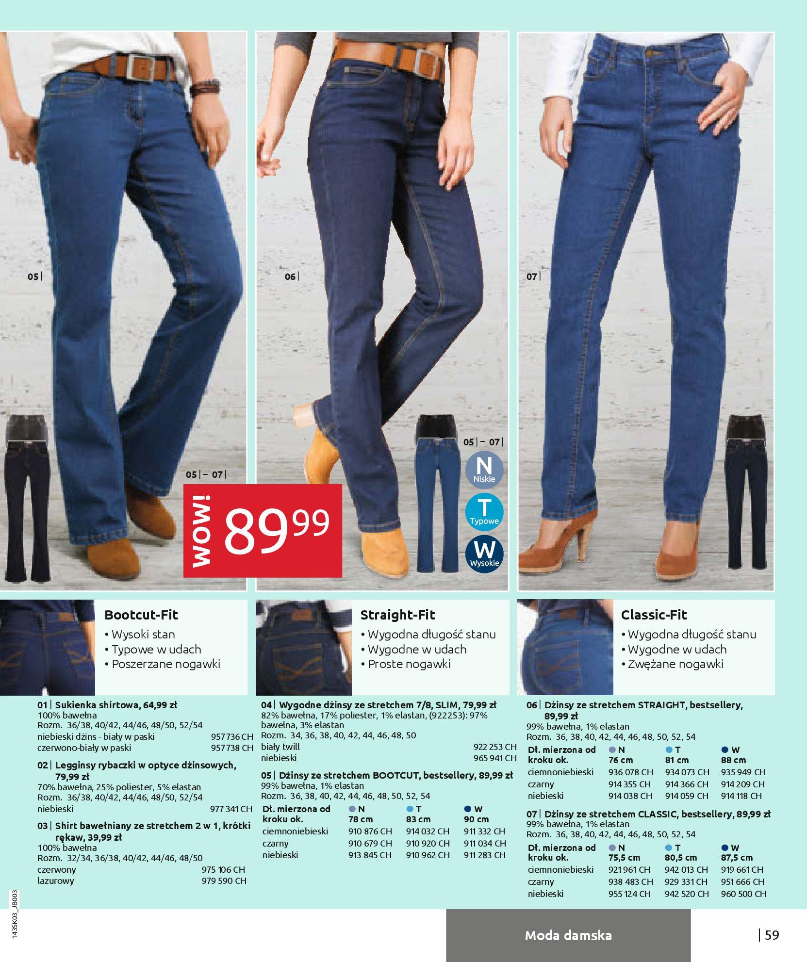Gazetka Bonprix: Wiosenna moda 2021-03-05 page-61