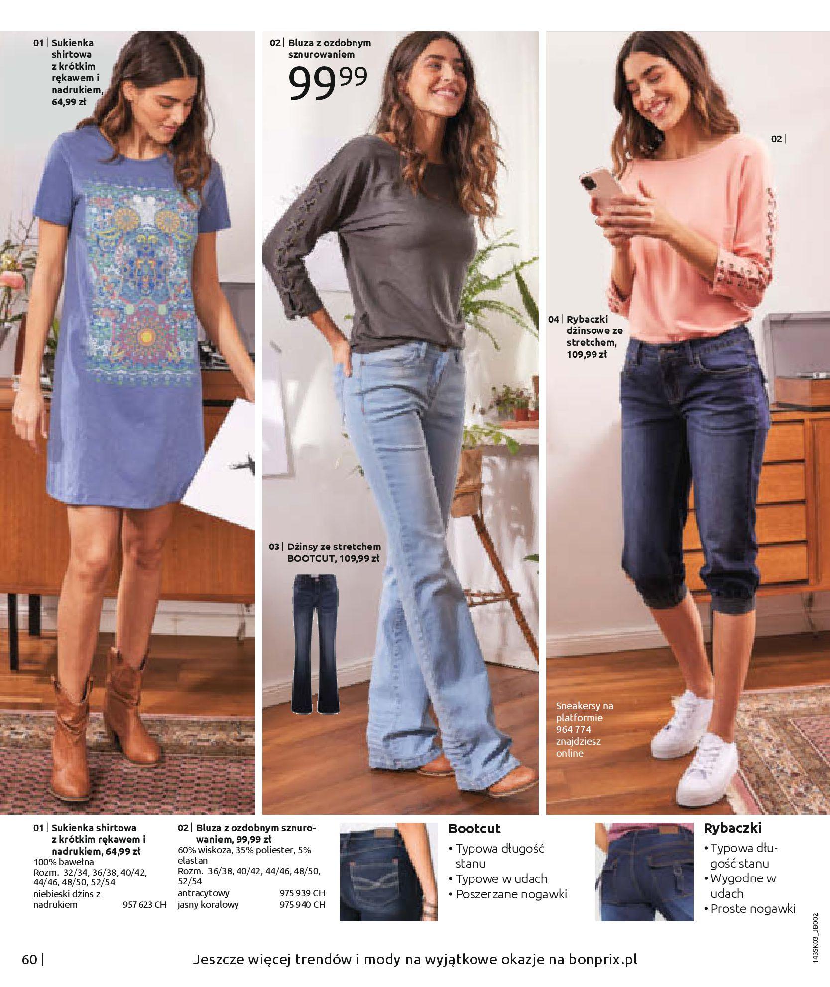 Gazetka Bonprix: Wiosenna moda 2021-03-05 page-62