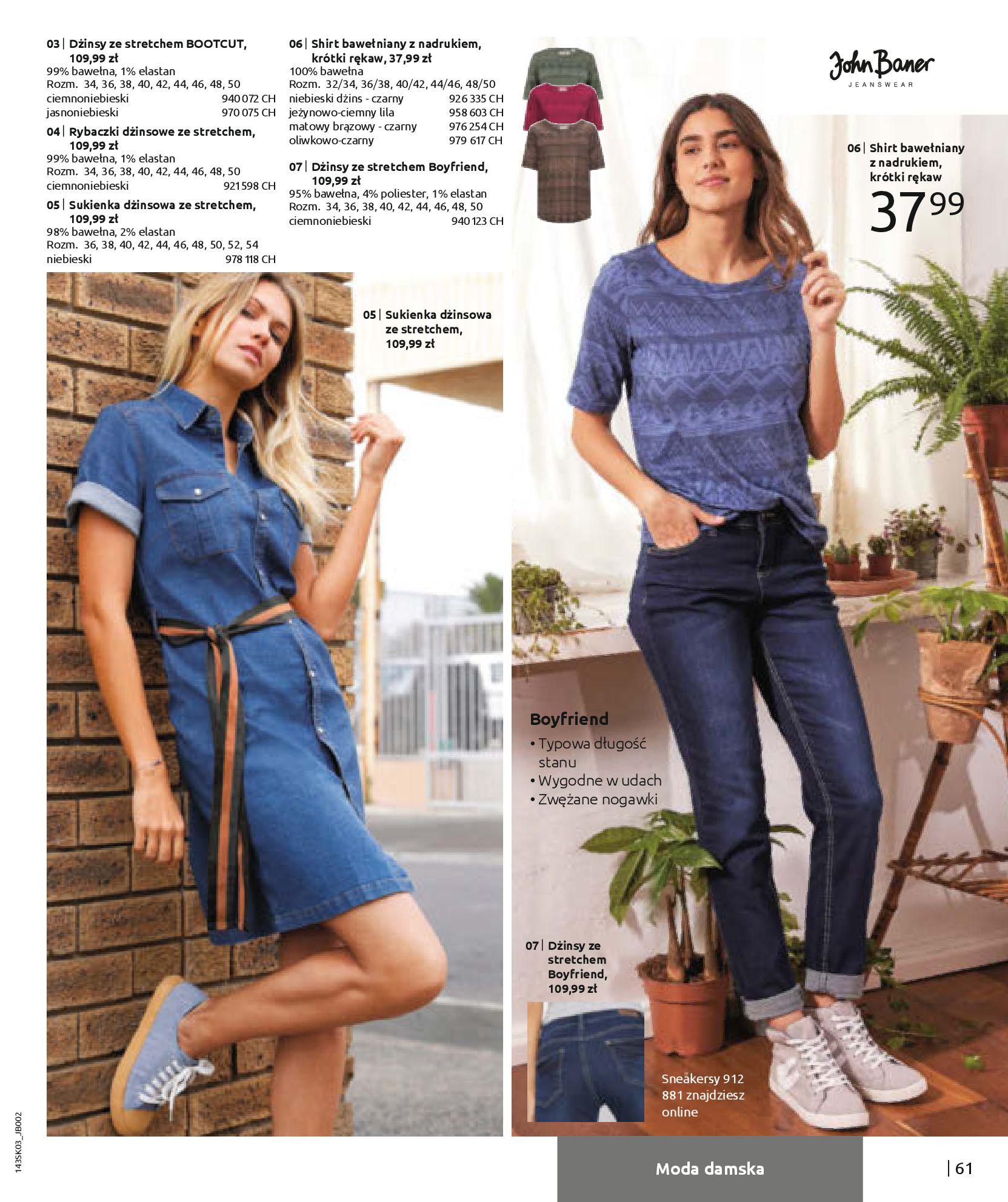 Gazetka Bonprix: Wiosenna moda 2021-03-05 page-63