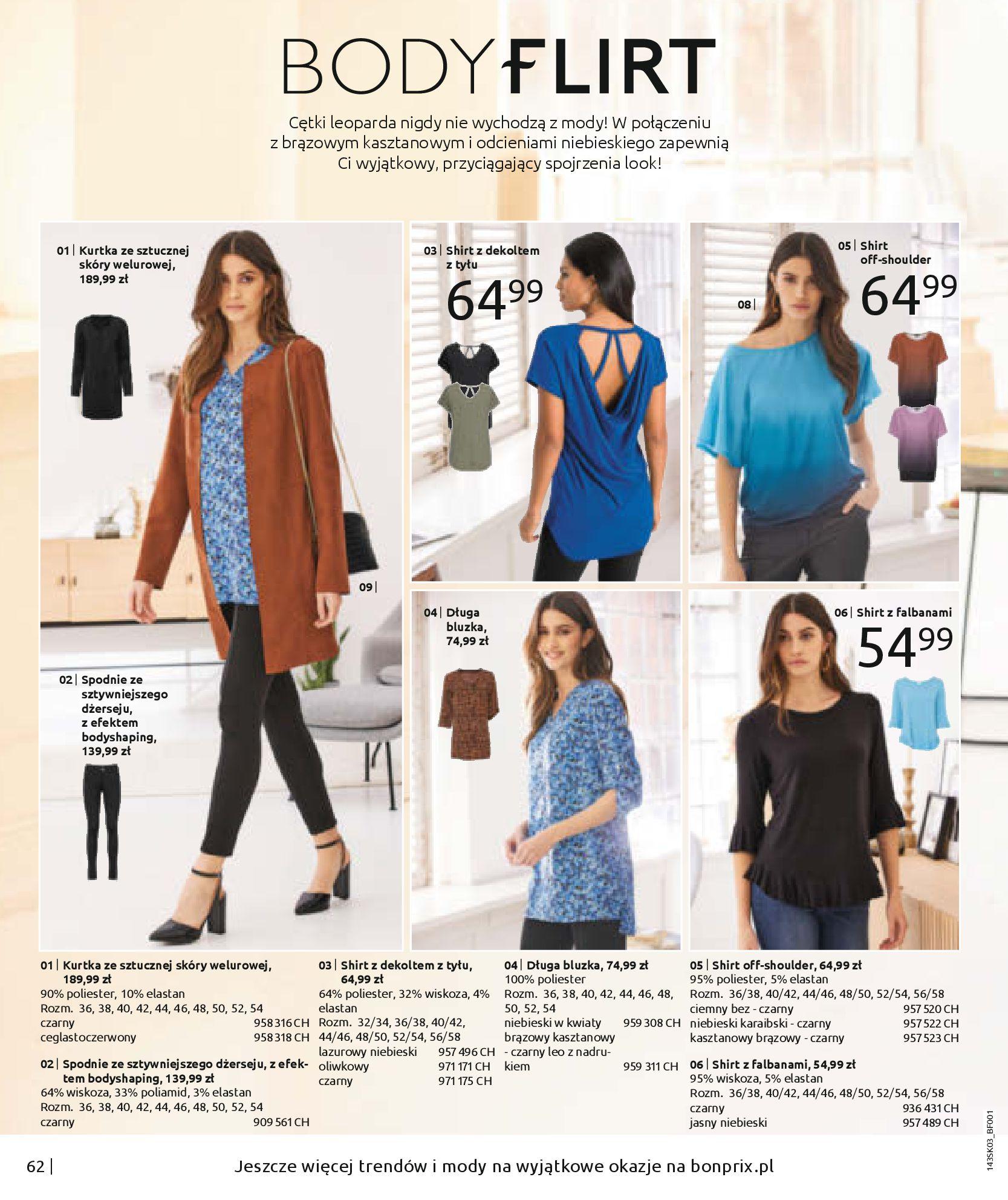 Gazetka Bonprix: Wiosenna moda 2021-03-05 page-64