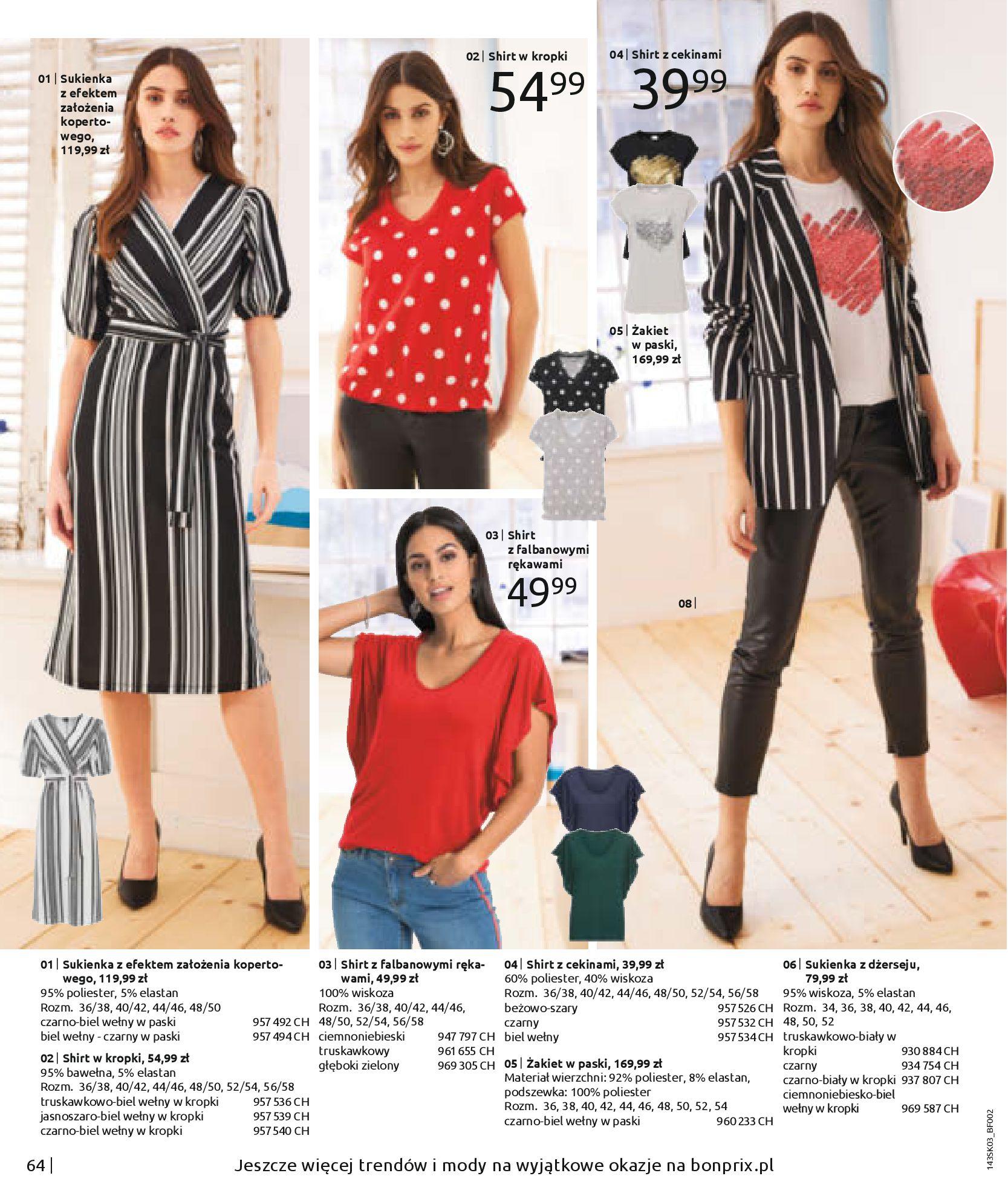 Gazetka Bonprix: Wiosenna moda 2021-03-05 page-66