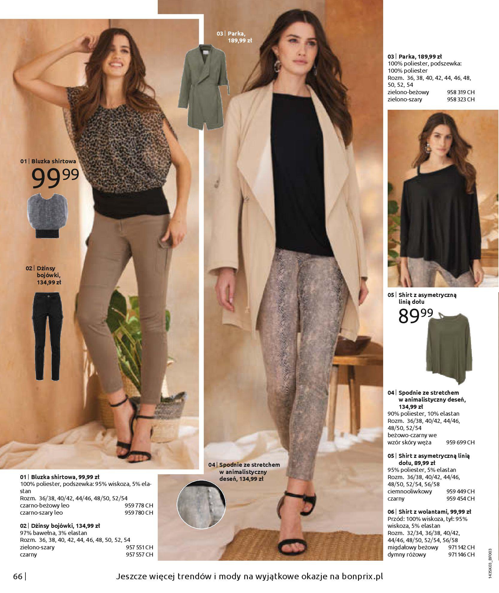 Gazetka Bonprix: Wiosenna moda 2021-03-05 page-68