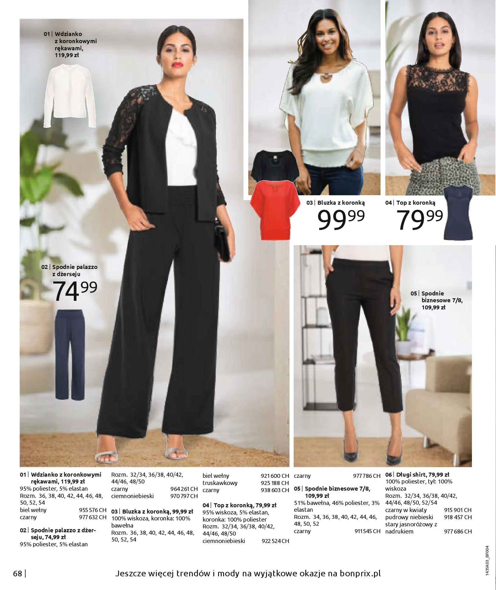 Gazetka Bonprix: Wiosenna moda 2021-03-05 page-70