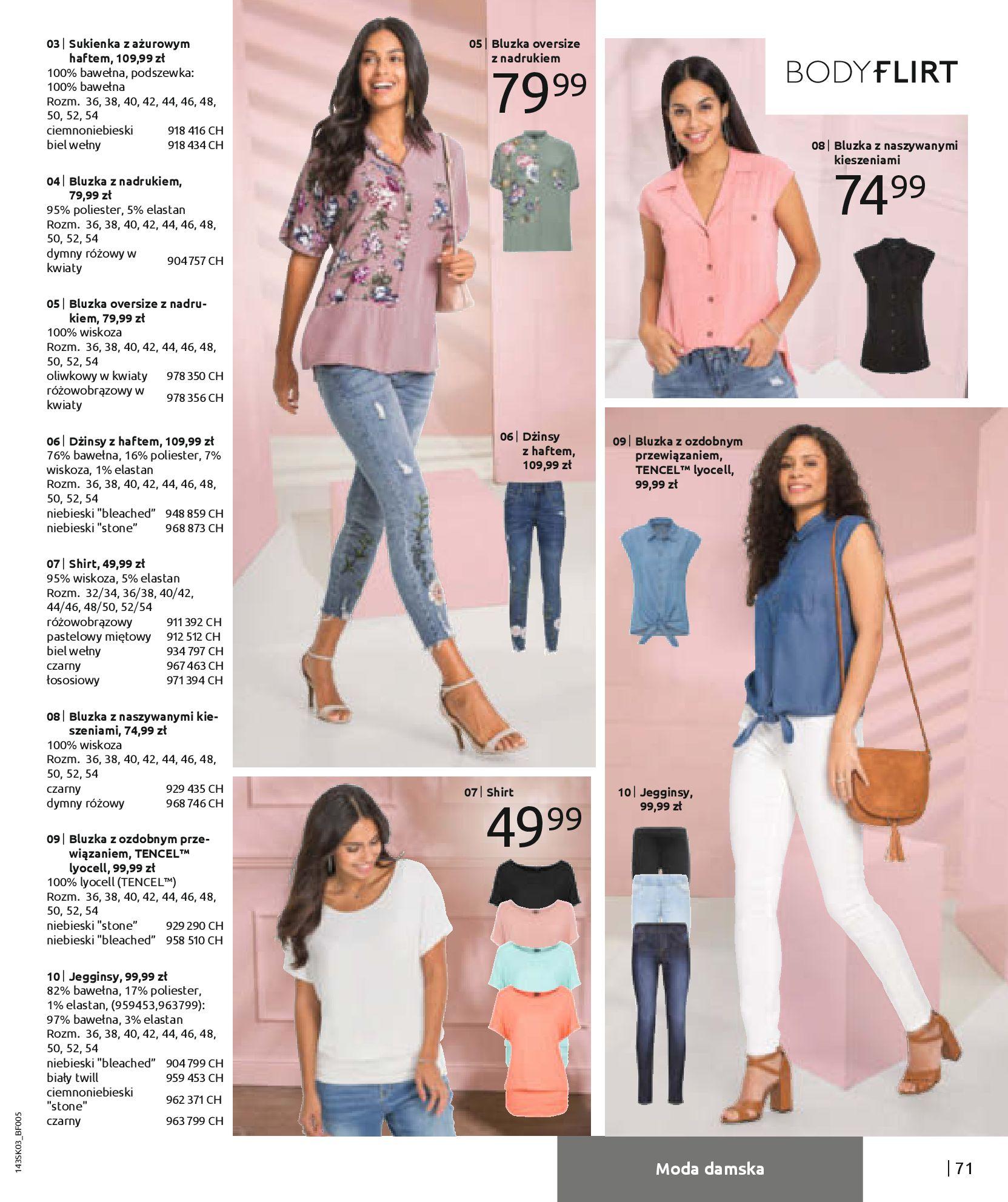 Gazetka Bonprix: Wiosenna moda 2021-03-05 page-73