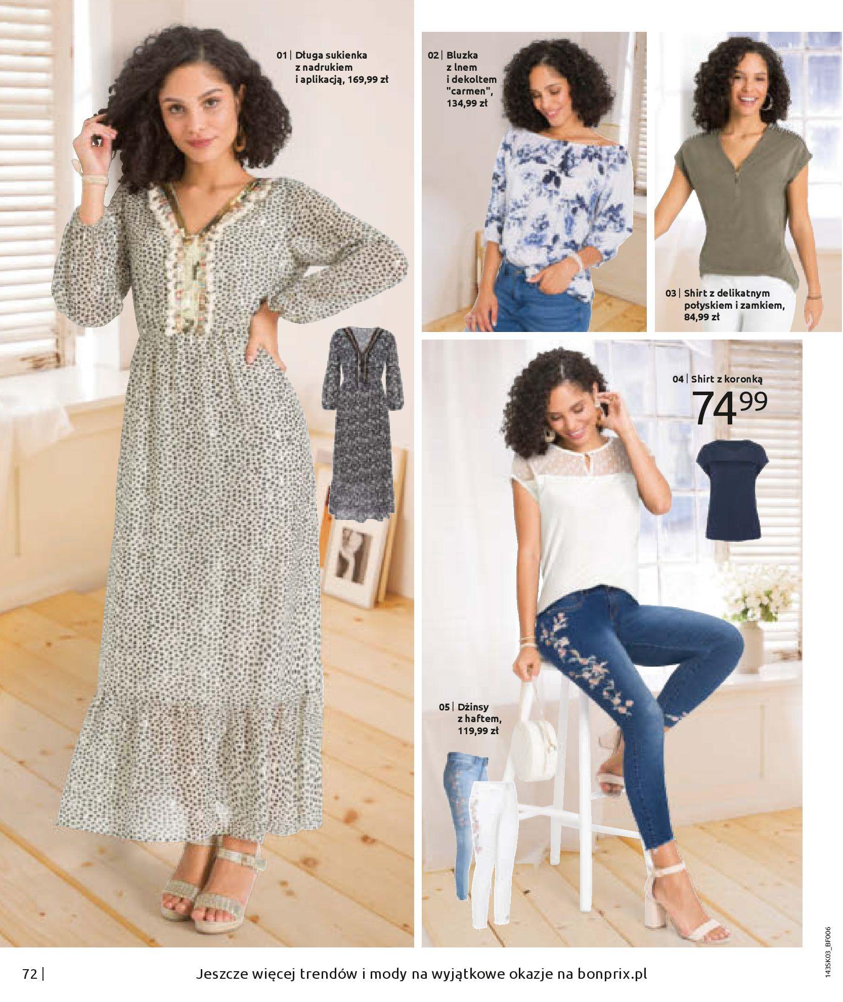 Gazetka Bonprix: Wiosenna moda 2021-03-05 page-74