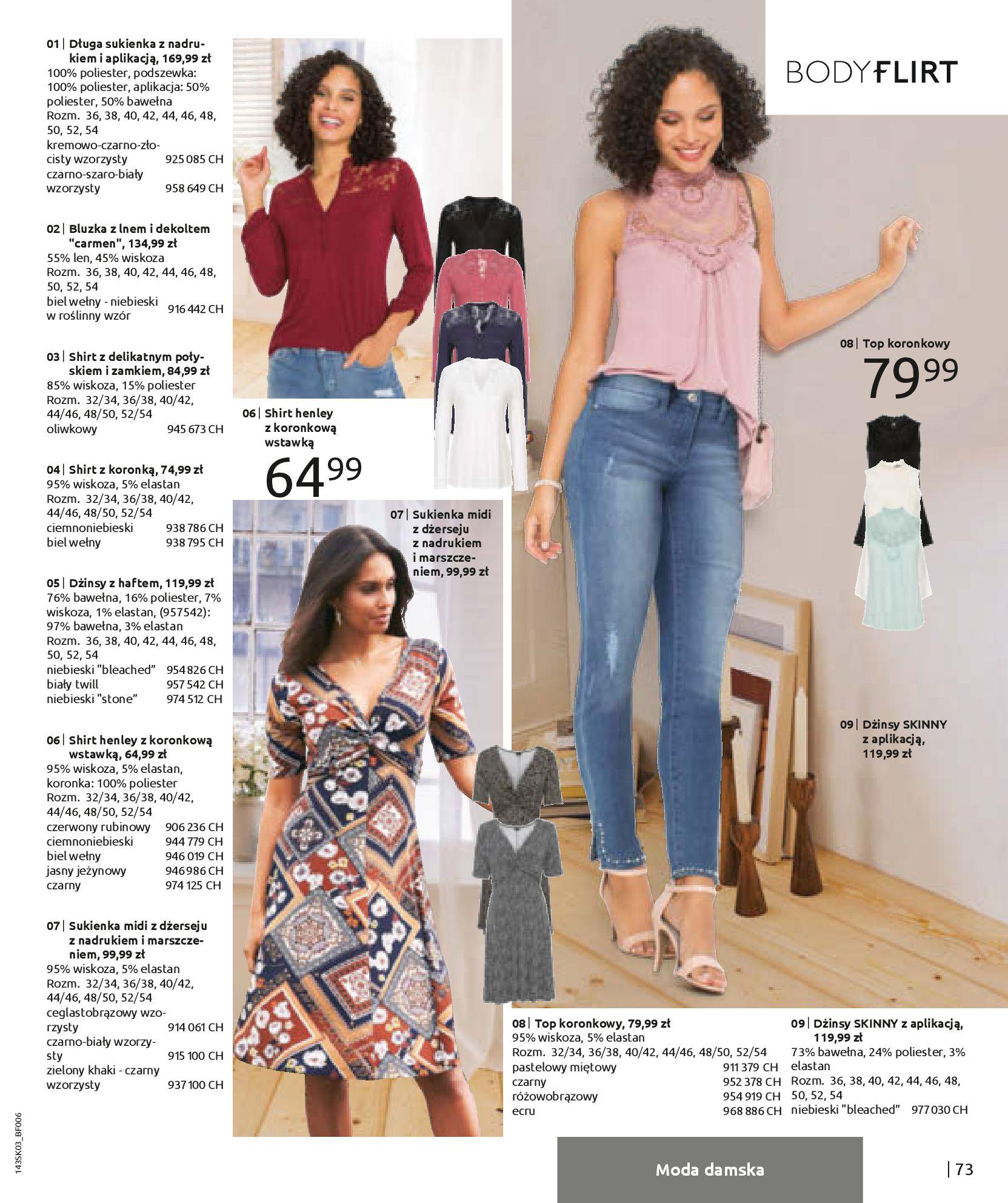 Gazetka Bonprix: Wiosenna moda 2021-03-05 page-75
