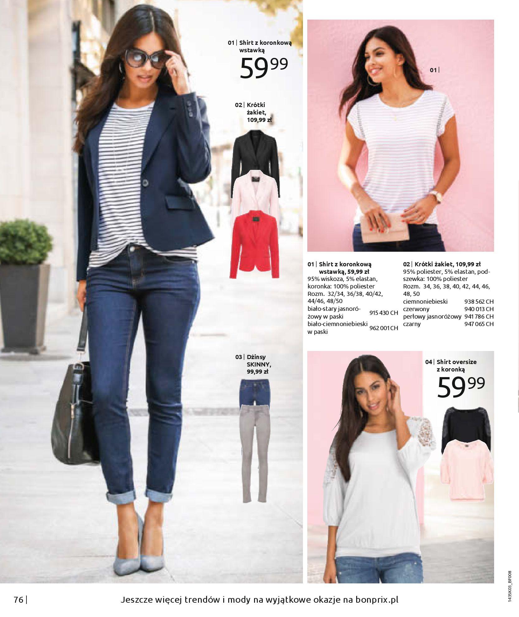 Gazetka Bonprix: Wiosenna moda 2021-03-05 page-78