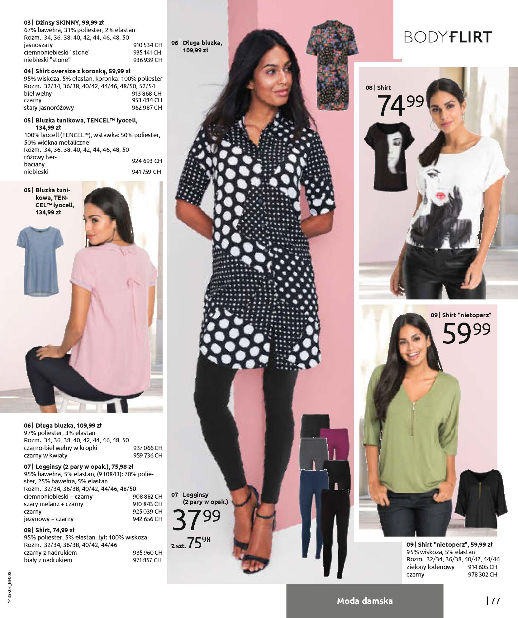 Gazetka Bonprix: Wiosenna moda 2021-03-05 page-79