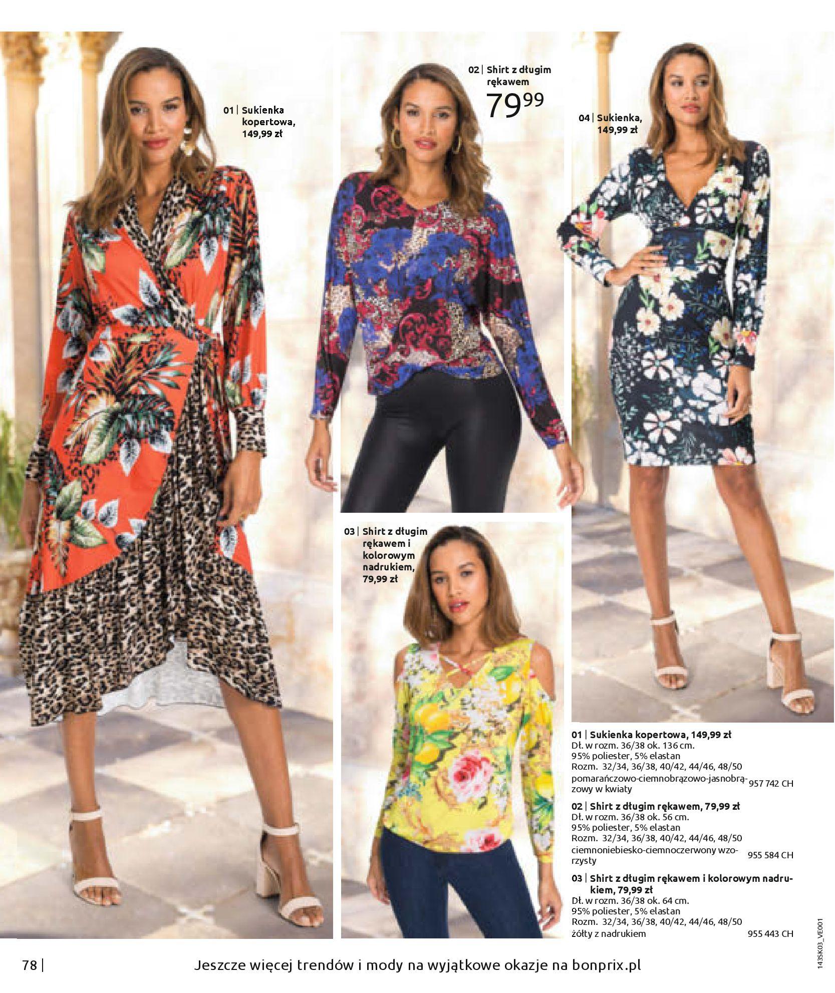 Gazetka Bonprix: Wiosenna moda 2021-03-05 page-80