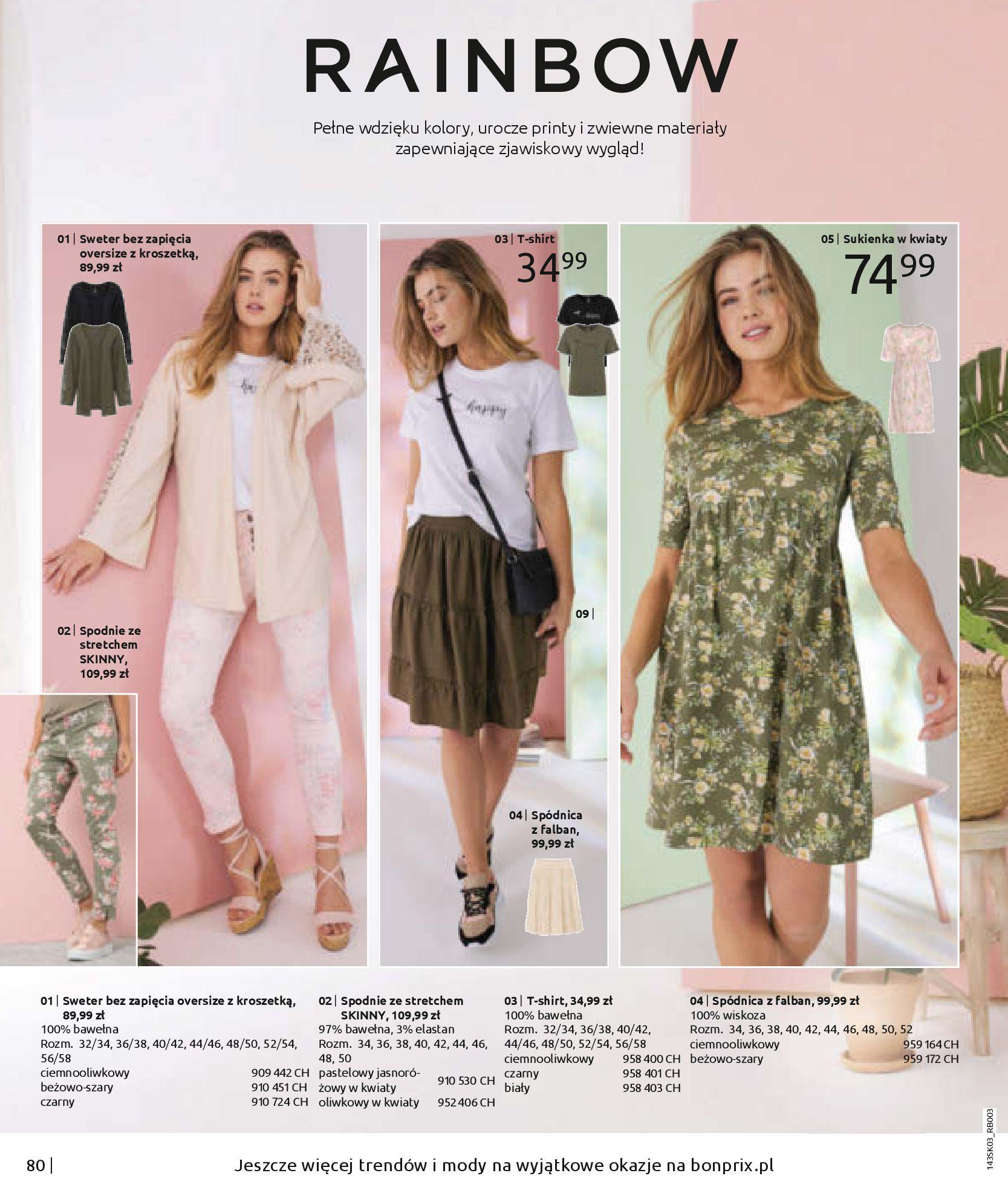 Gazetka Bonprix: Wiosenna moda 2021-03-05 page-82
