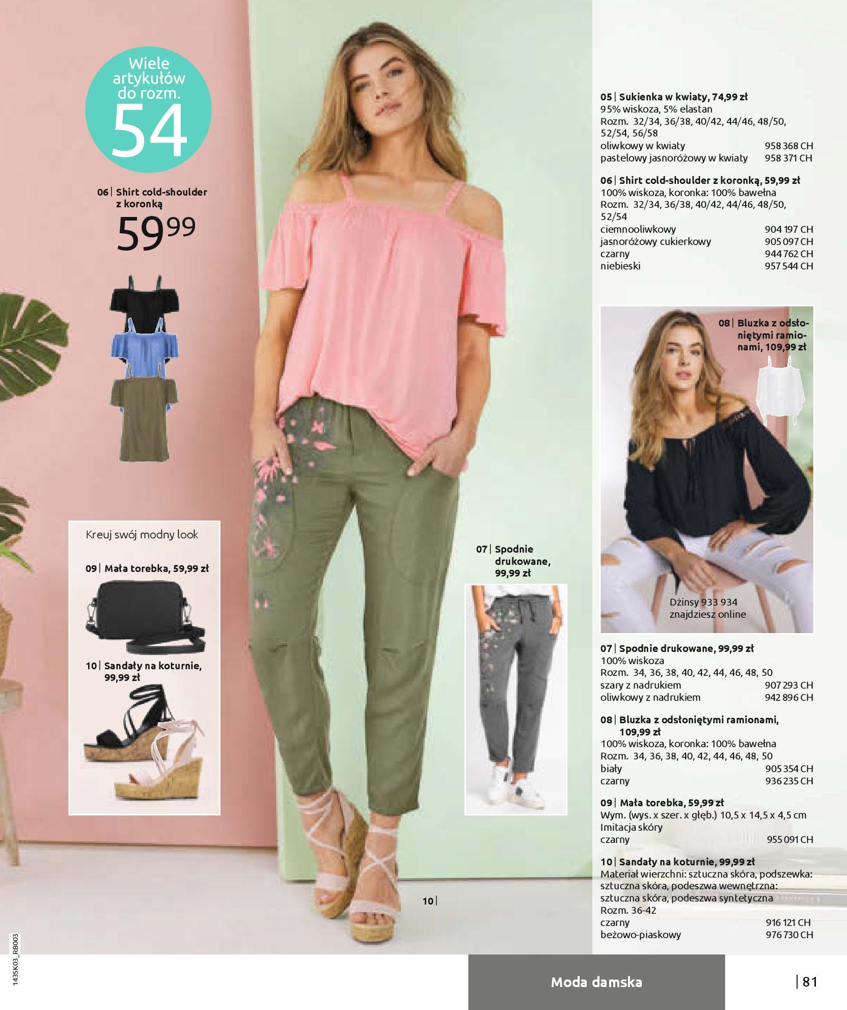 Gazetka Bonprix: Wiosenna moda 2021-03-05 page-83