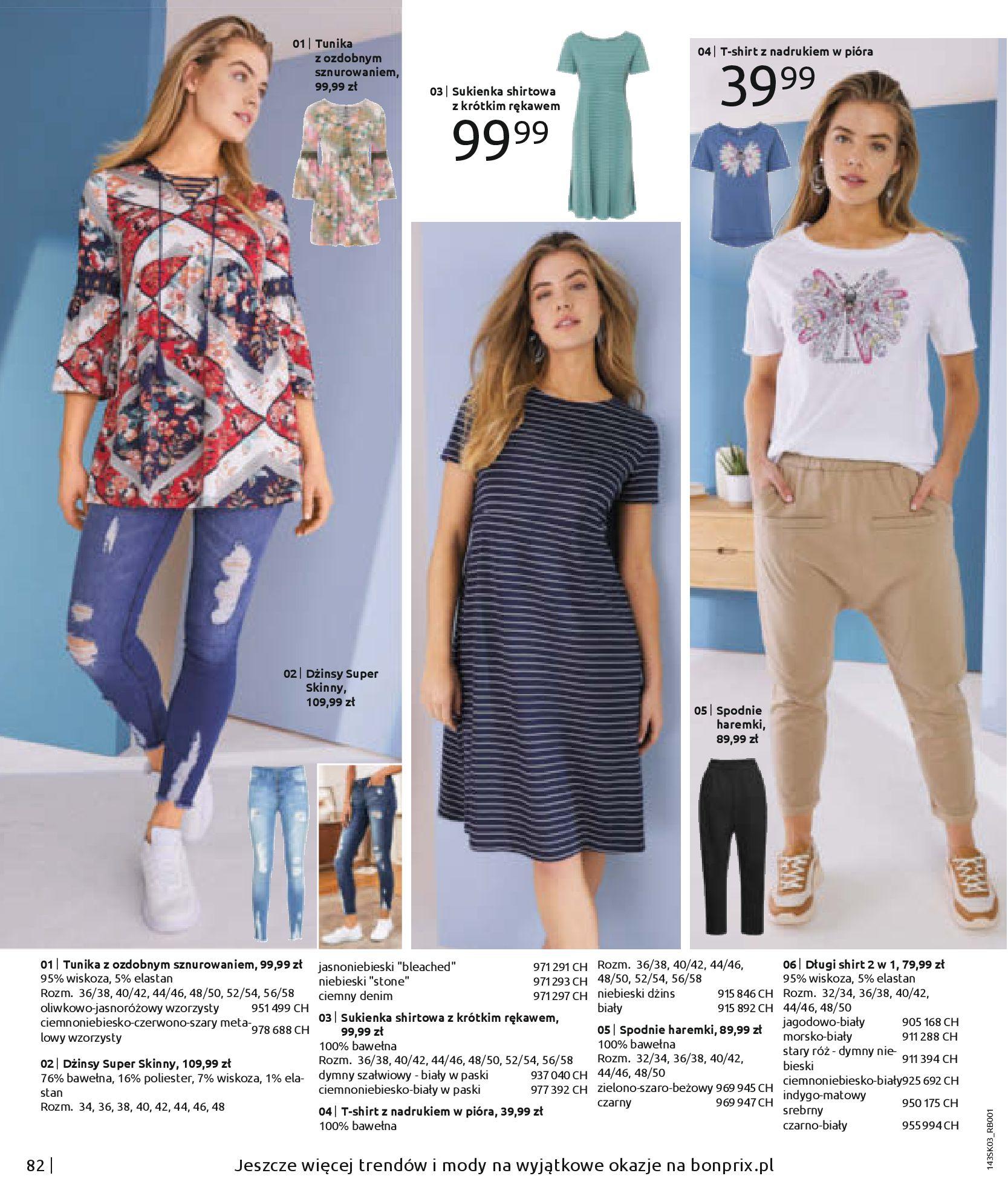 Gazetka Bonprix: Wiosenna moda 2021-03-05 page-84