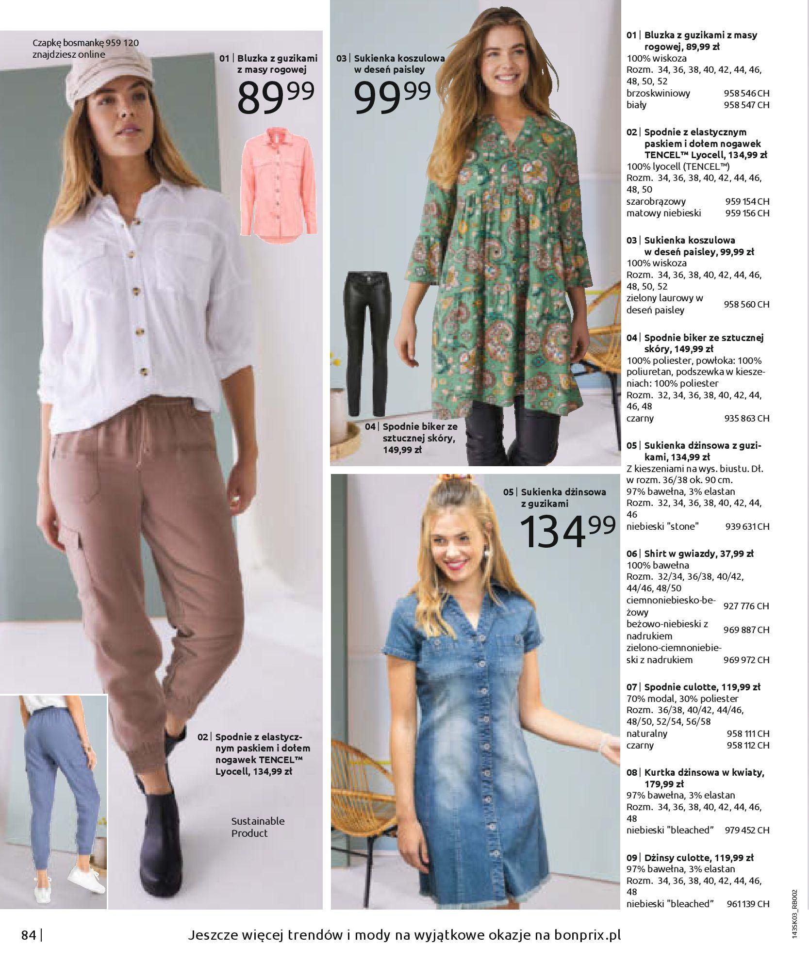 Gazetka Bonprix: Wiosenna moda 2021-03-05 page-86