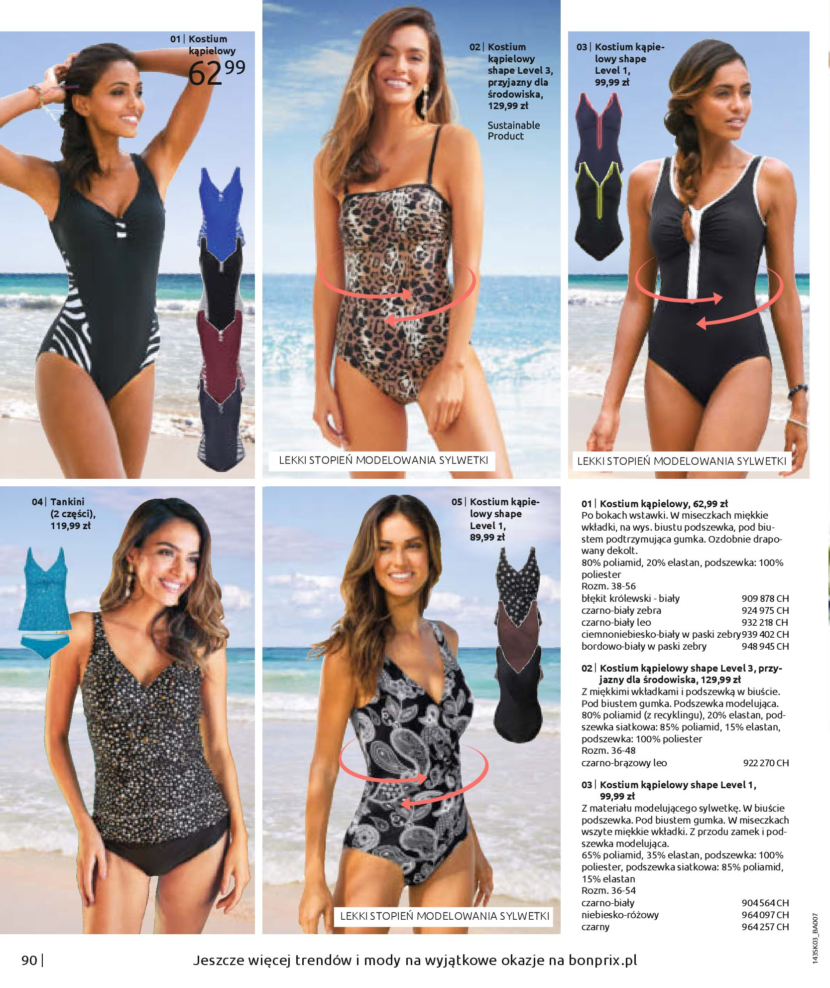 Gazetka Bonprix: Wiosenna moda 2021-03-05 page-92