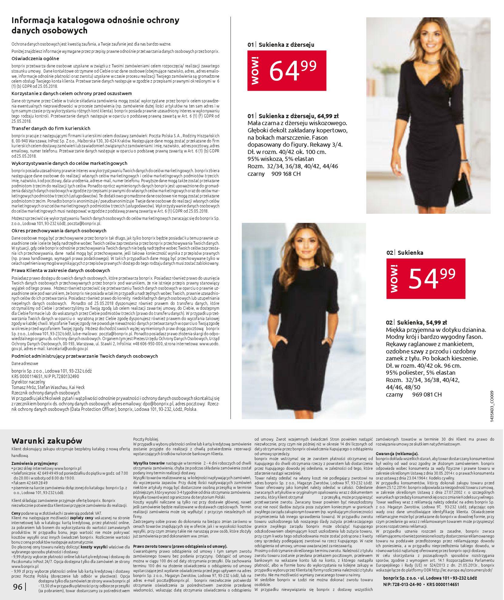 Gazetka Bonprix: Wiosenna moda 2021-03-05 page-98