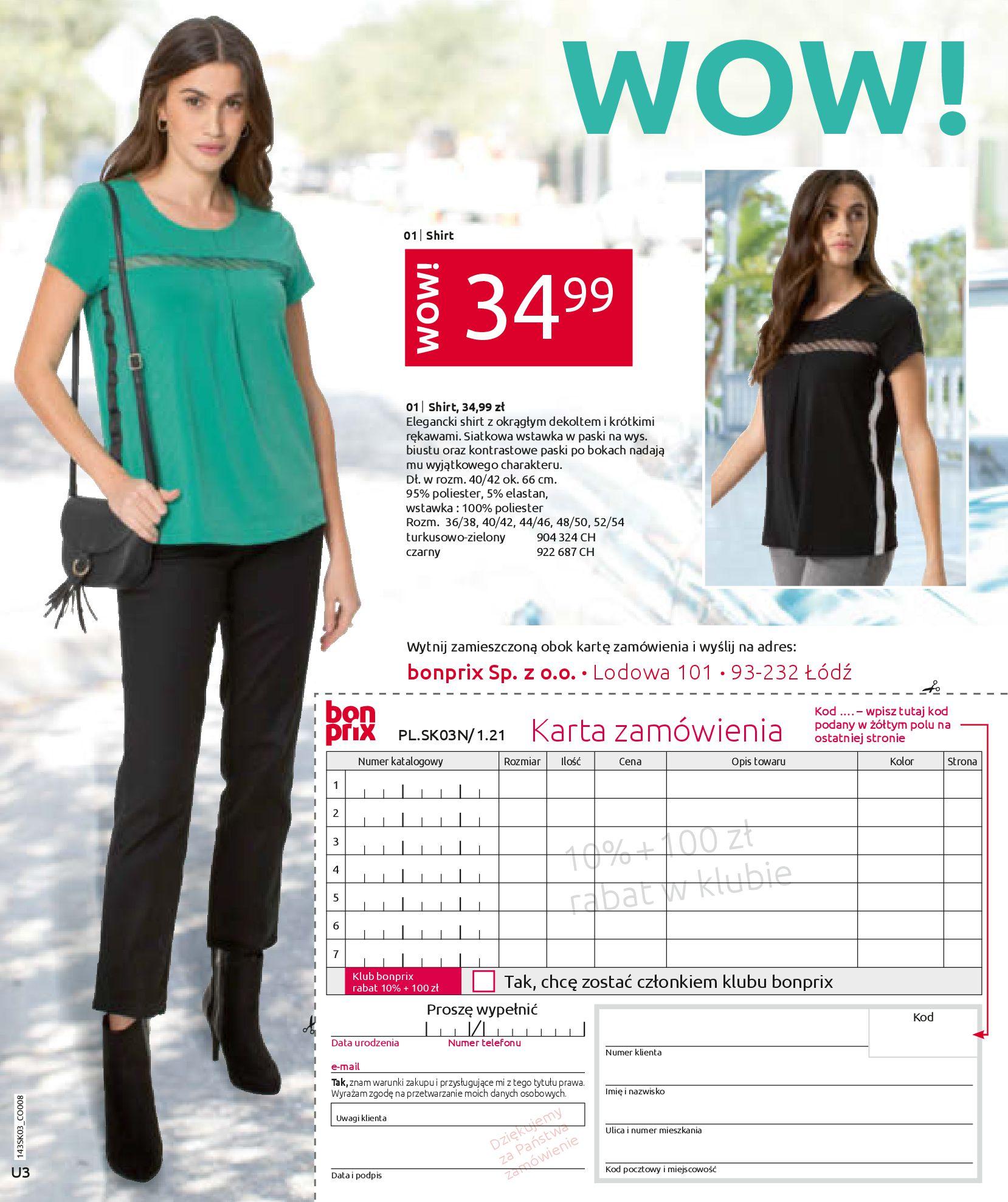 Gazetka Bonprix: Wiosenna moda 2021-03-05 page-99