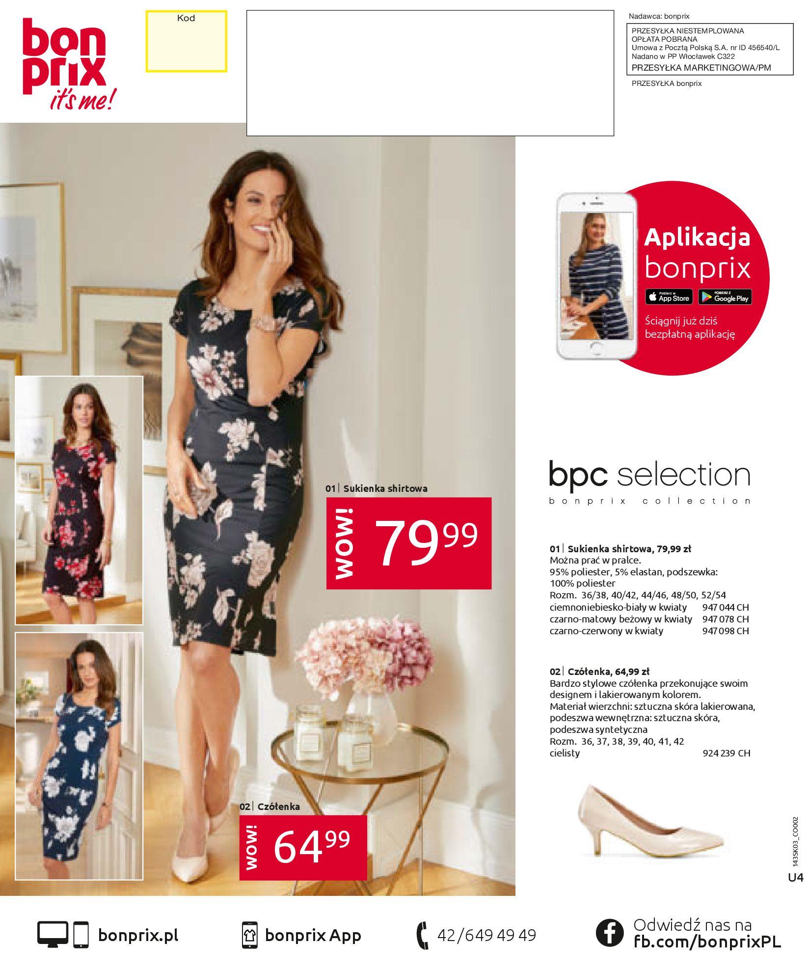 Gazetka Bonprix: Wiosenna moda 2021-03-05 page-100