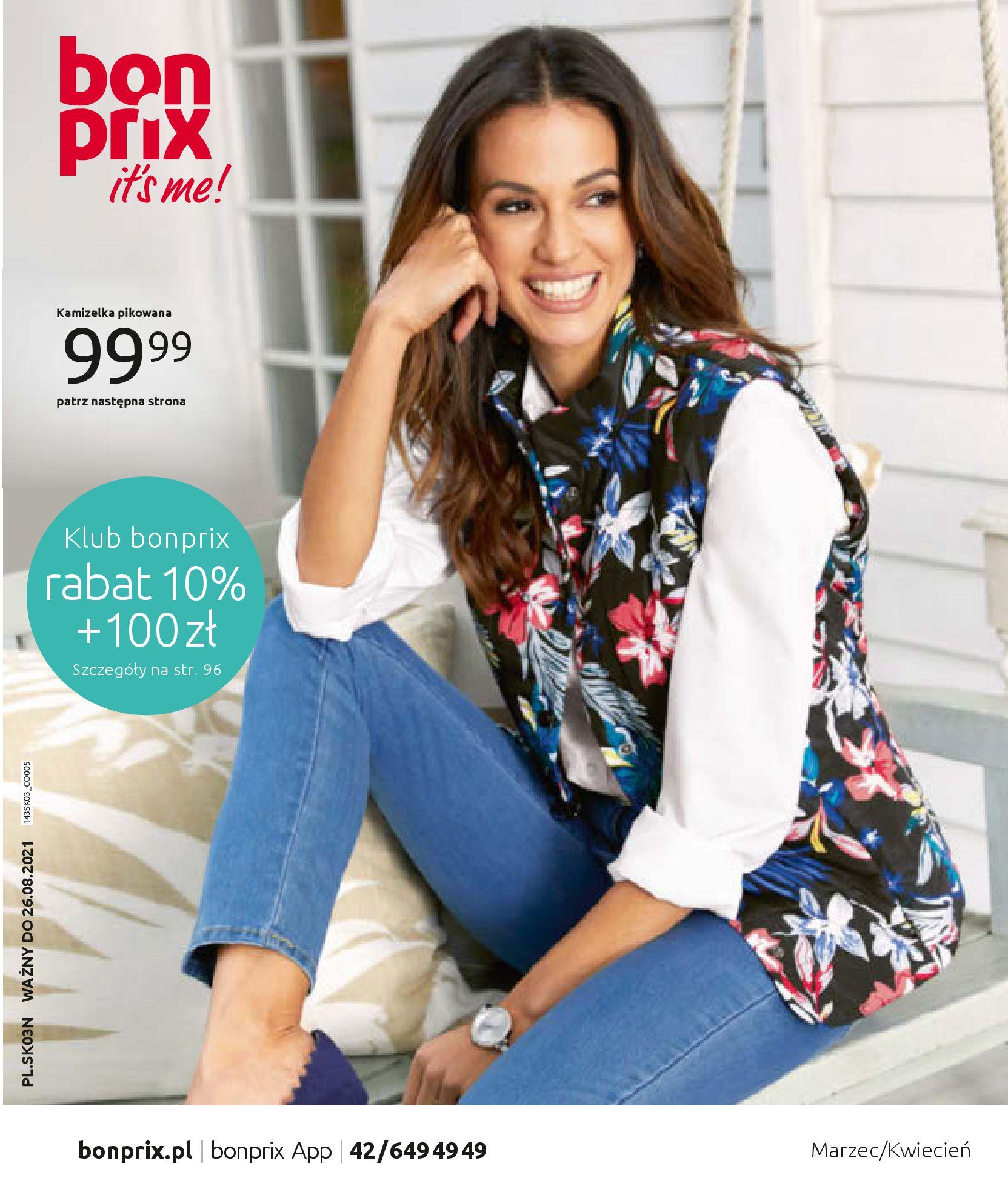 Gazetka Bonprix: Wiosenna moda 2021-03-05 page-1