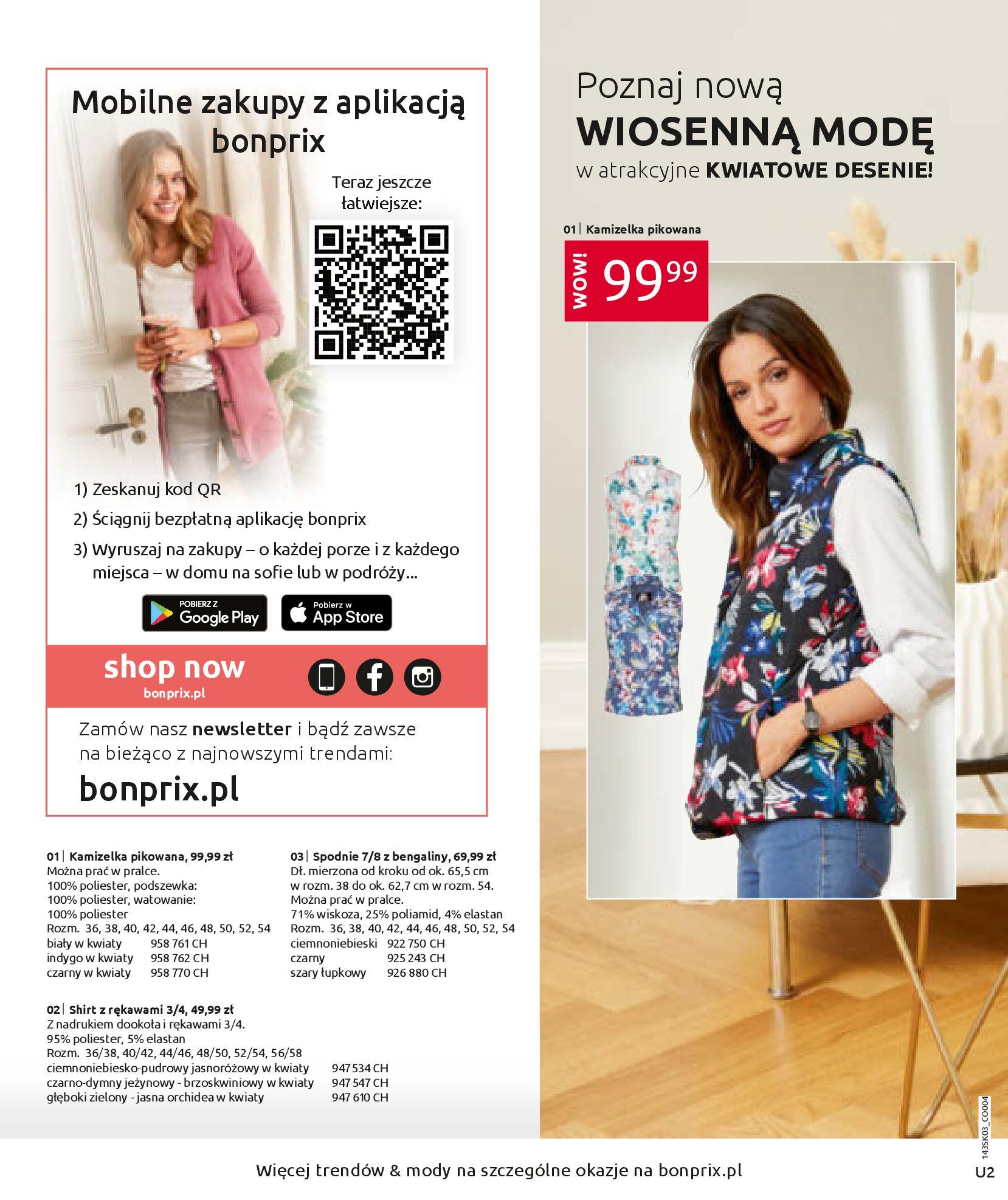 Gazetka Bonprix: Wiosenna moda 2021-03-05 page-2