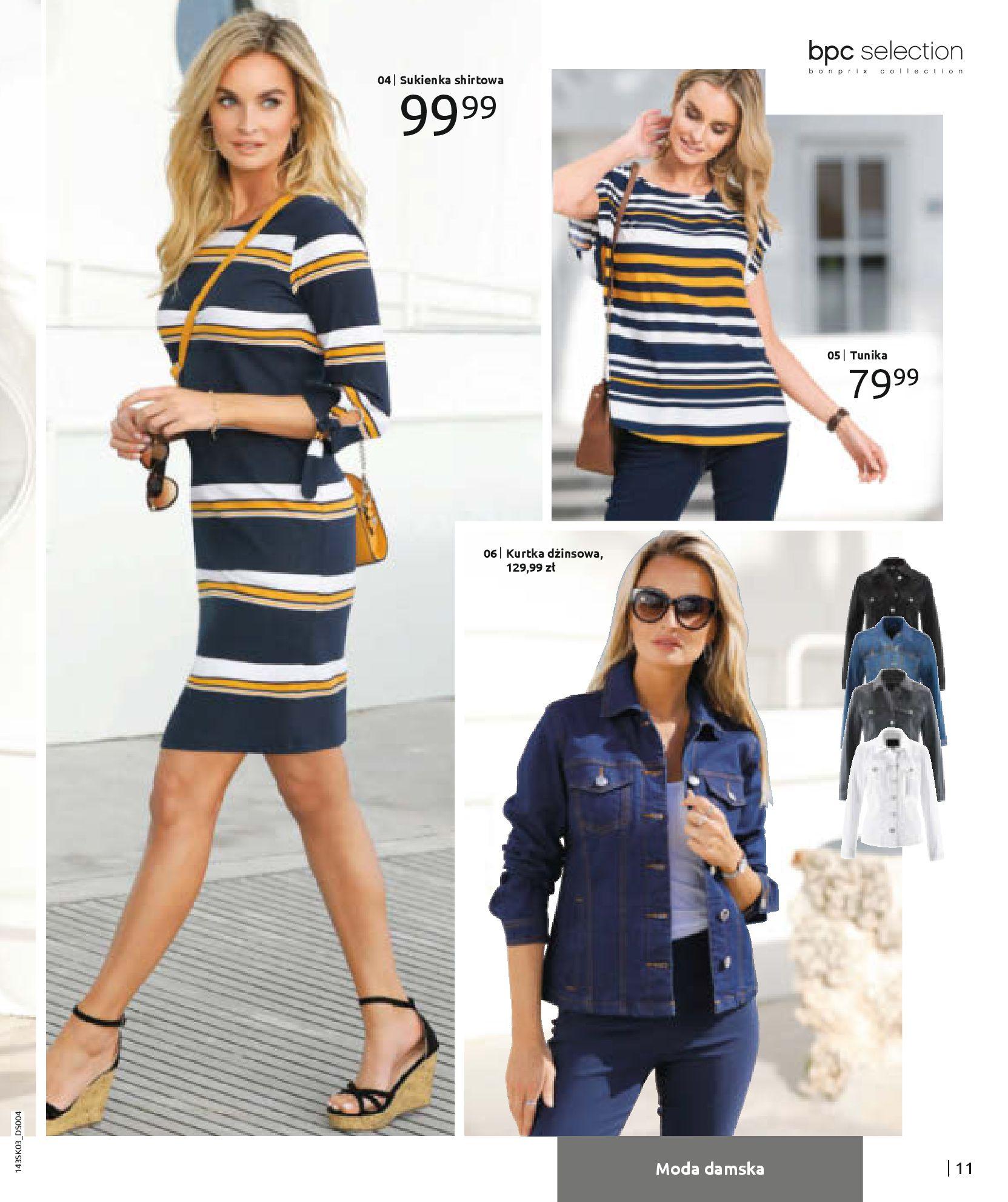 Gazetka Bonprix: Wiosenna moda 2021-03-05 page-13