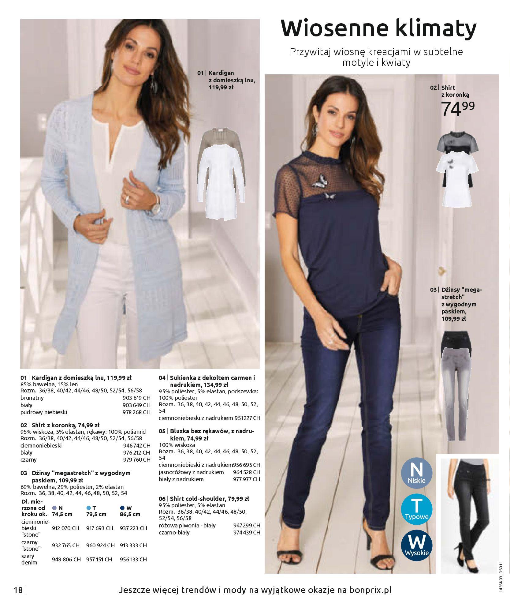 Gazetka Bonprix: Wiosenna moda 2021-03-05 page-20