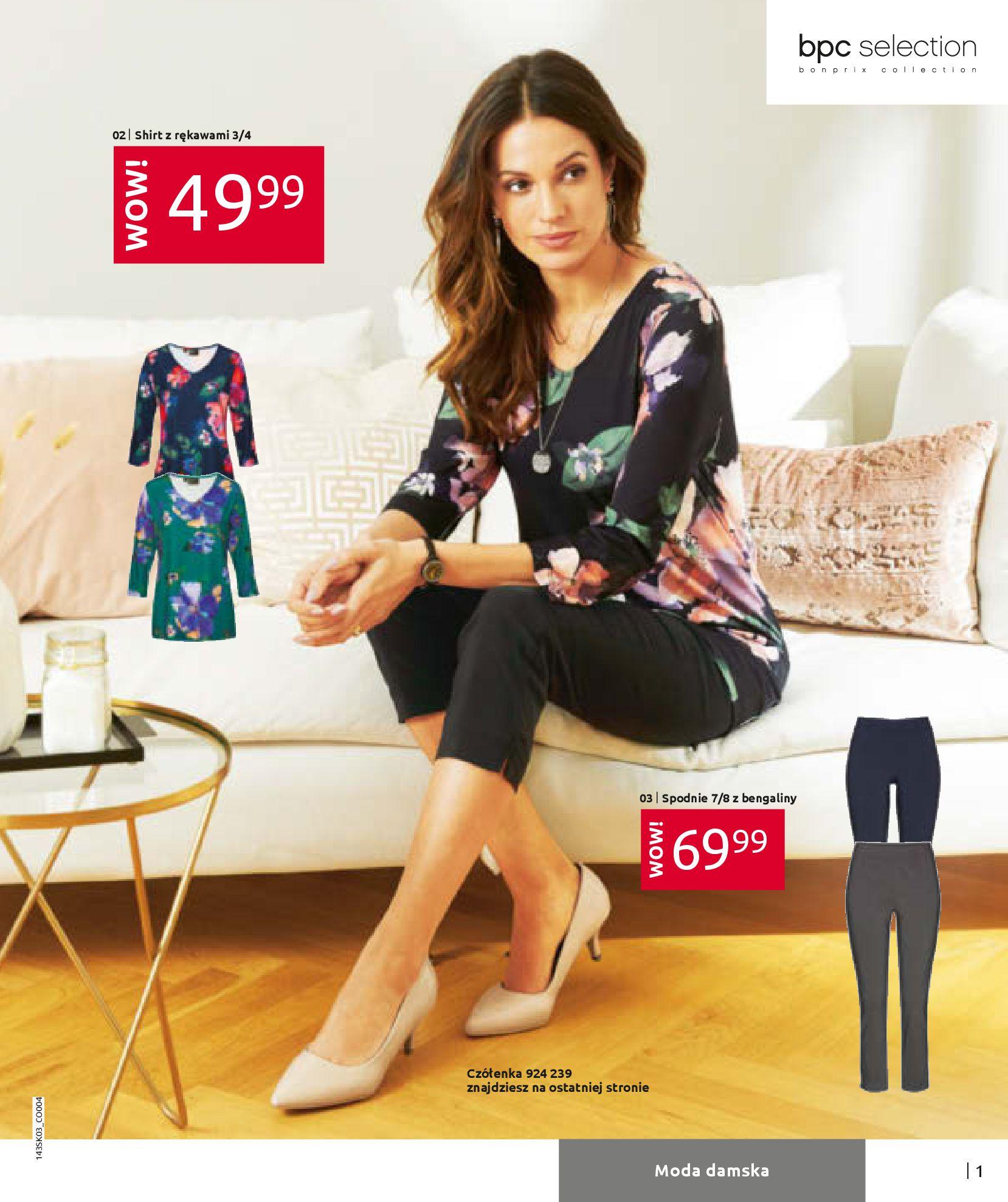 Gazetka Bonprix: Wiosenna moda 2021-03-05 page-3