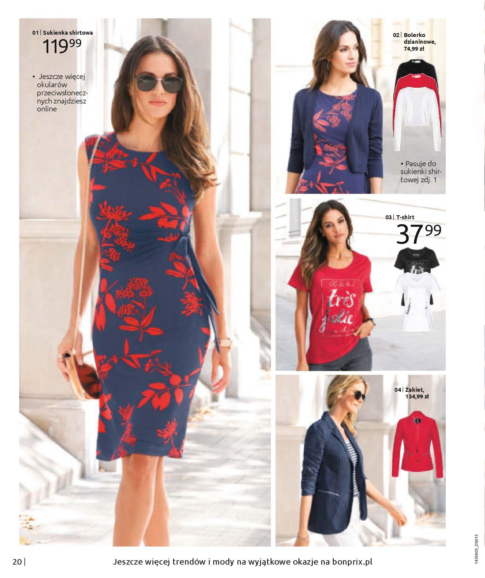 Gazetka Bonprix: Wiosenna moda 2021-03-05 page-22