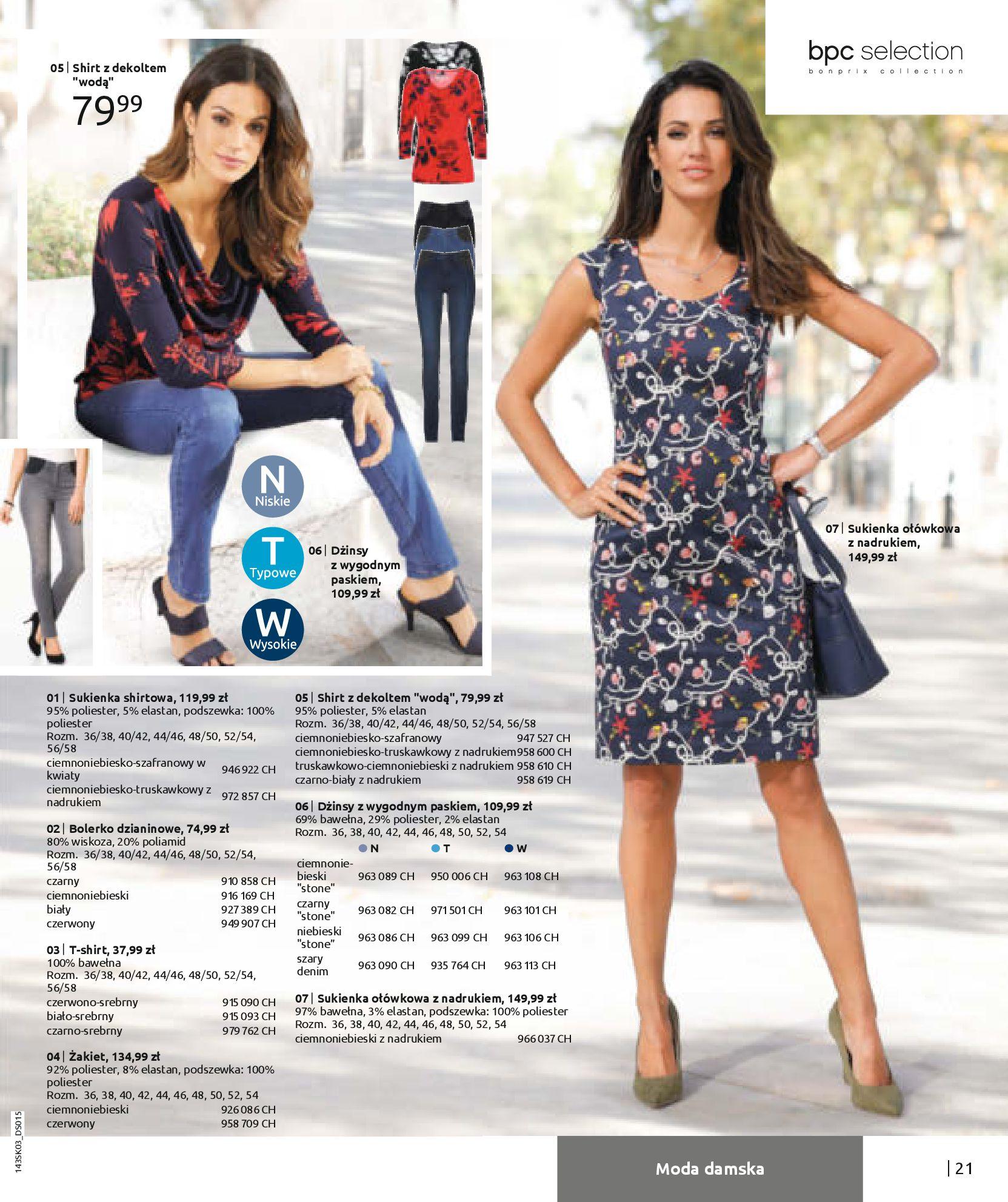 Gazetka Bonprix: Wiosenna moda 2021-03-05 page-23