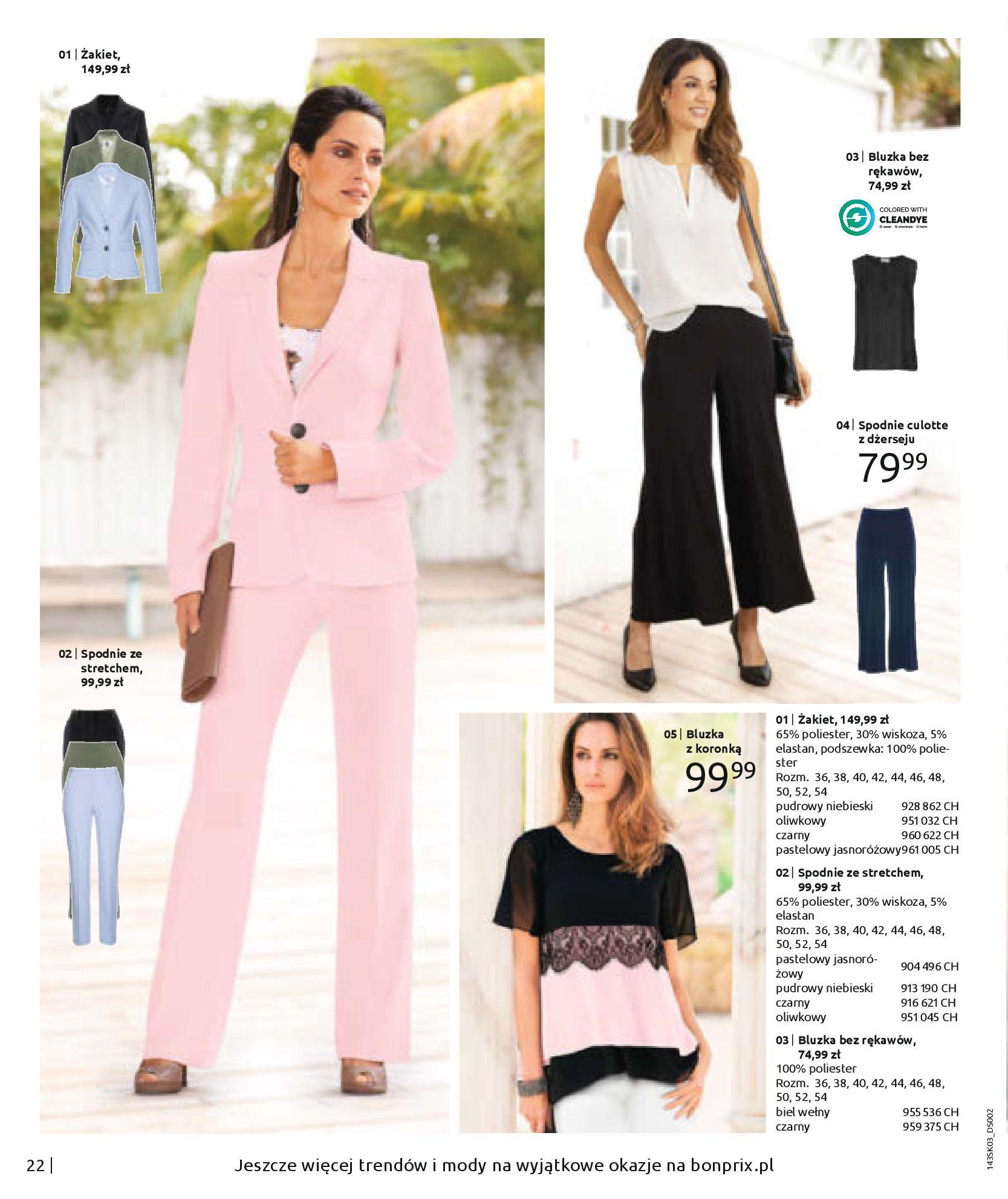 Gazetka Bonprix: Wiosenna moda 2021-03-05 page-24