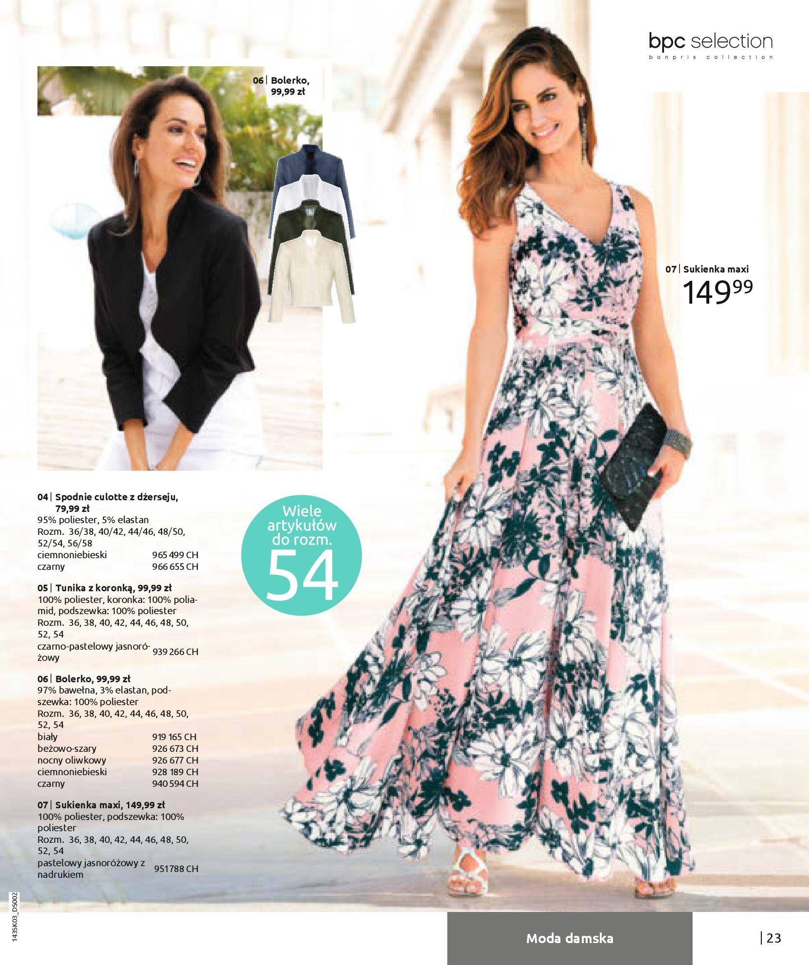 Gazetka Bonprix: Wiosenna moda 2021-03-05 page-25