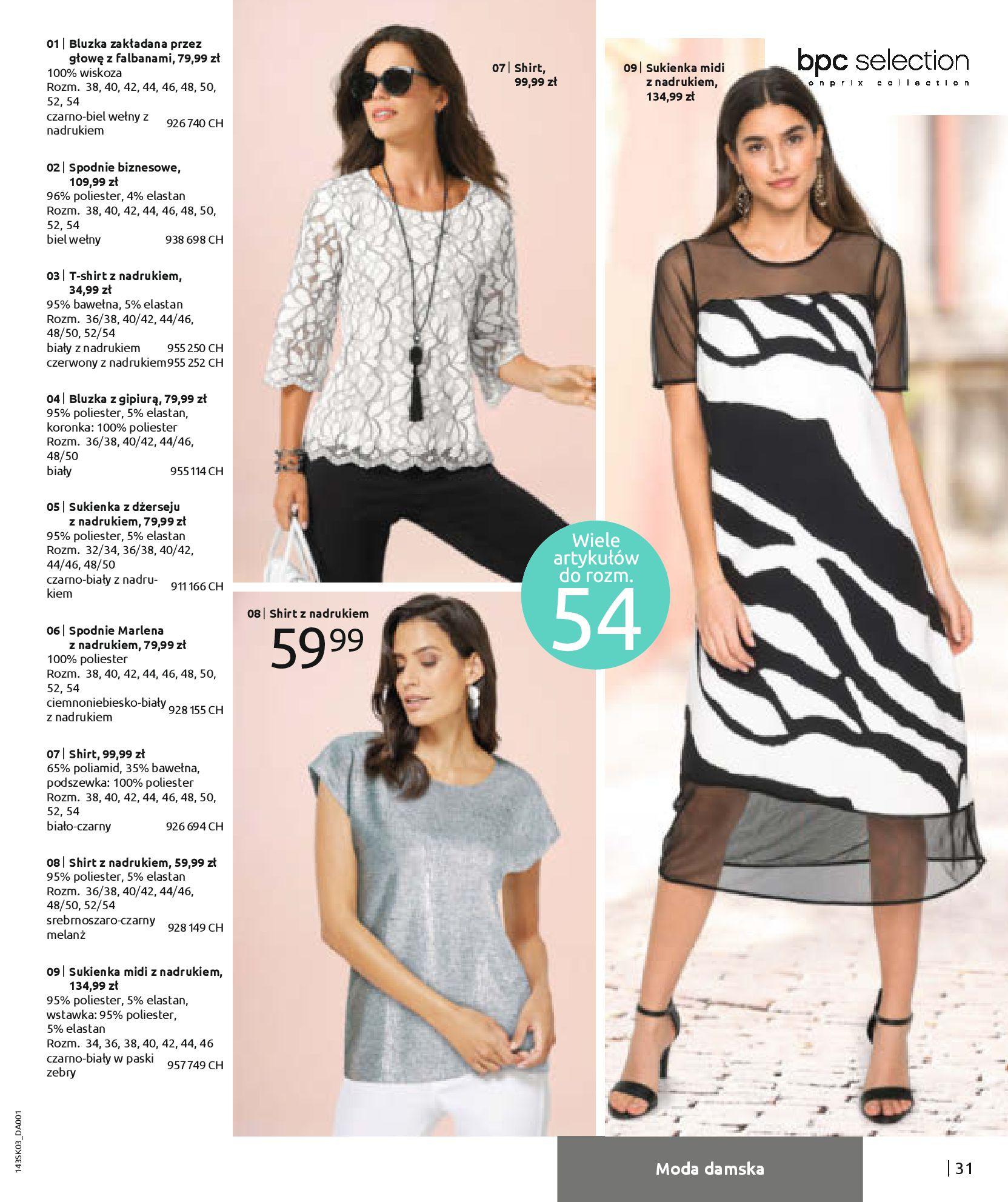 Gazetka Bonprix: Wiosenna moda 2021-03-05 page-33