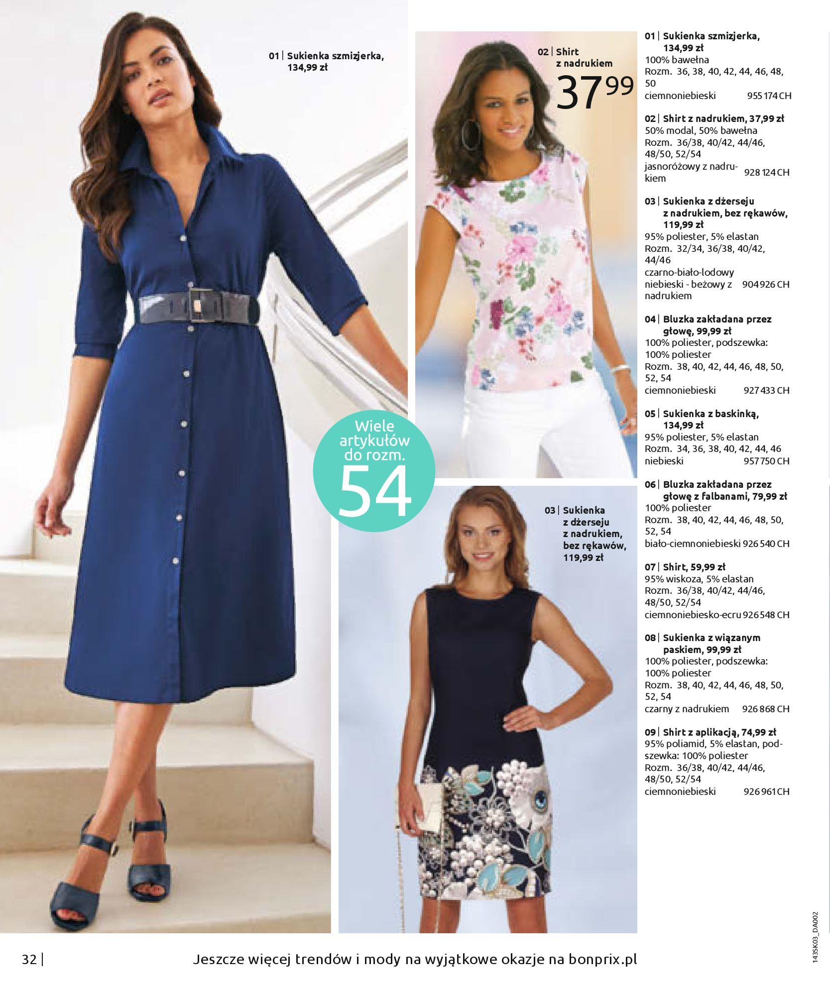 Gazetka Bonprix: Wiosenna moda 2021-03-05 page-34
