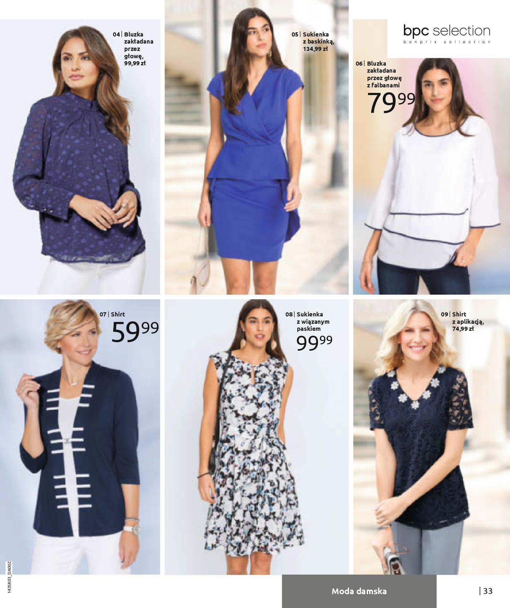 Gazetka Bonprix: Wiosenna moda 2021-03-05 page-35